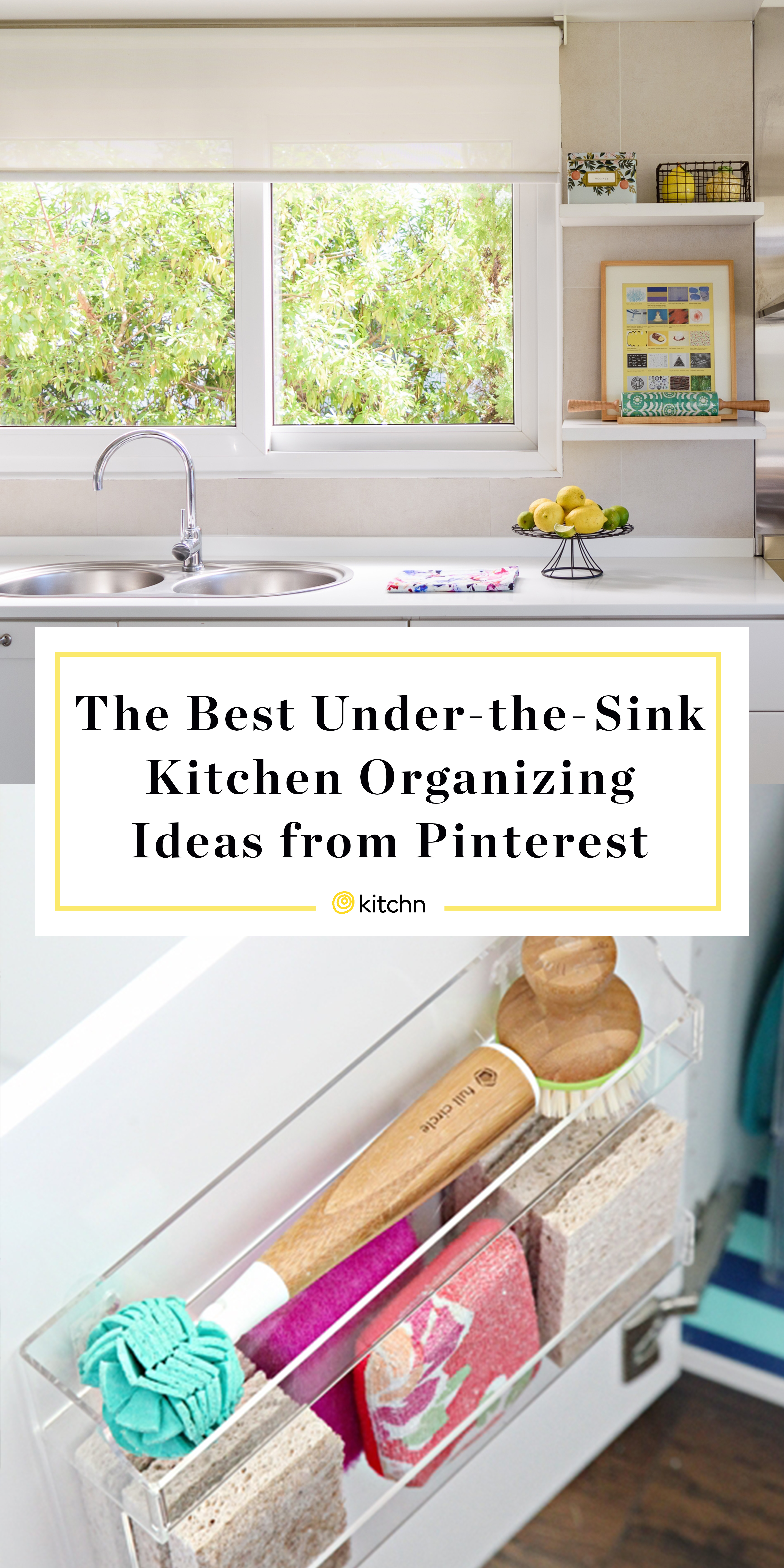 Organize Under Kitchen Sink Tips Ideas Kitchn