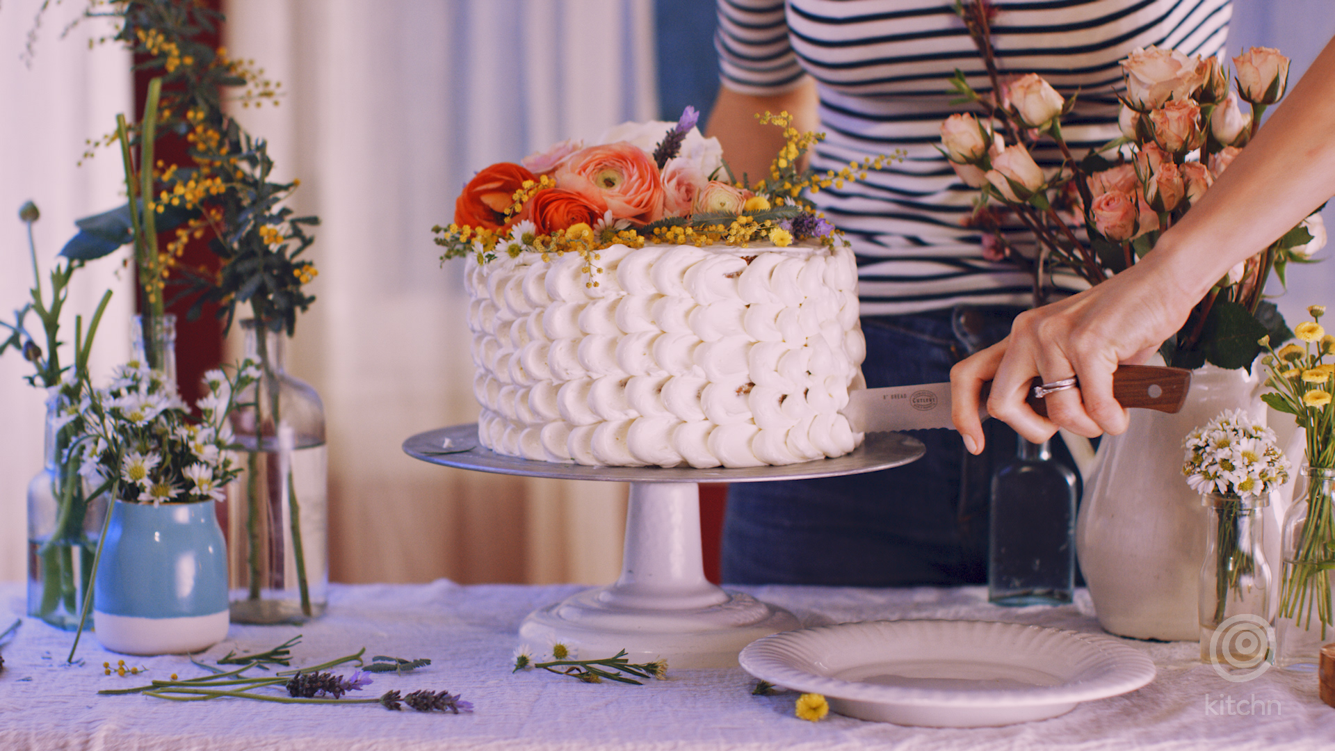 What To Know About Putting Flowers On Your Cakes Kitchn