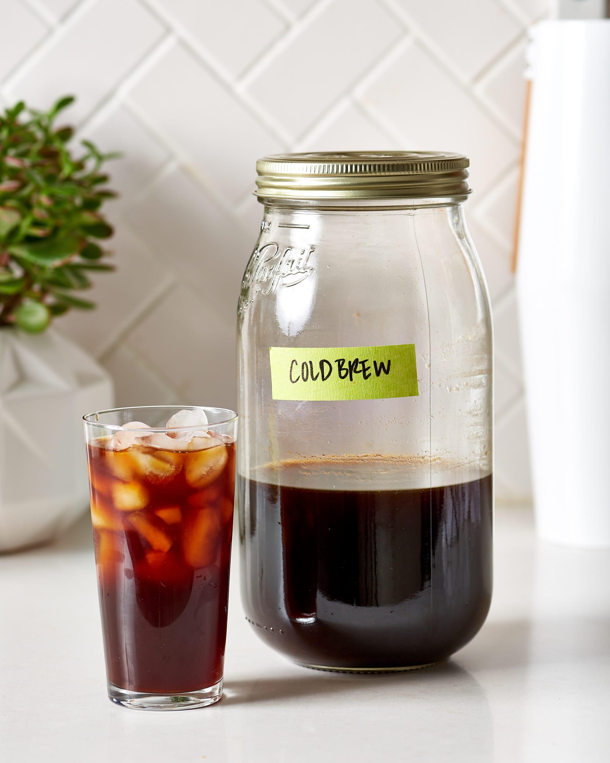 How to Make Cold Brew Coffee - Big Batch Method   Kitchn