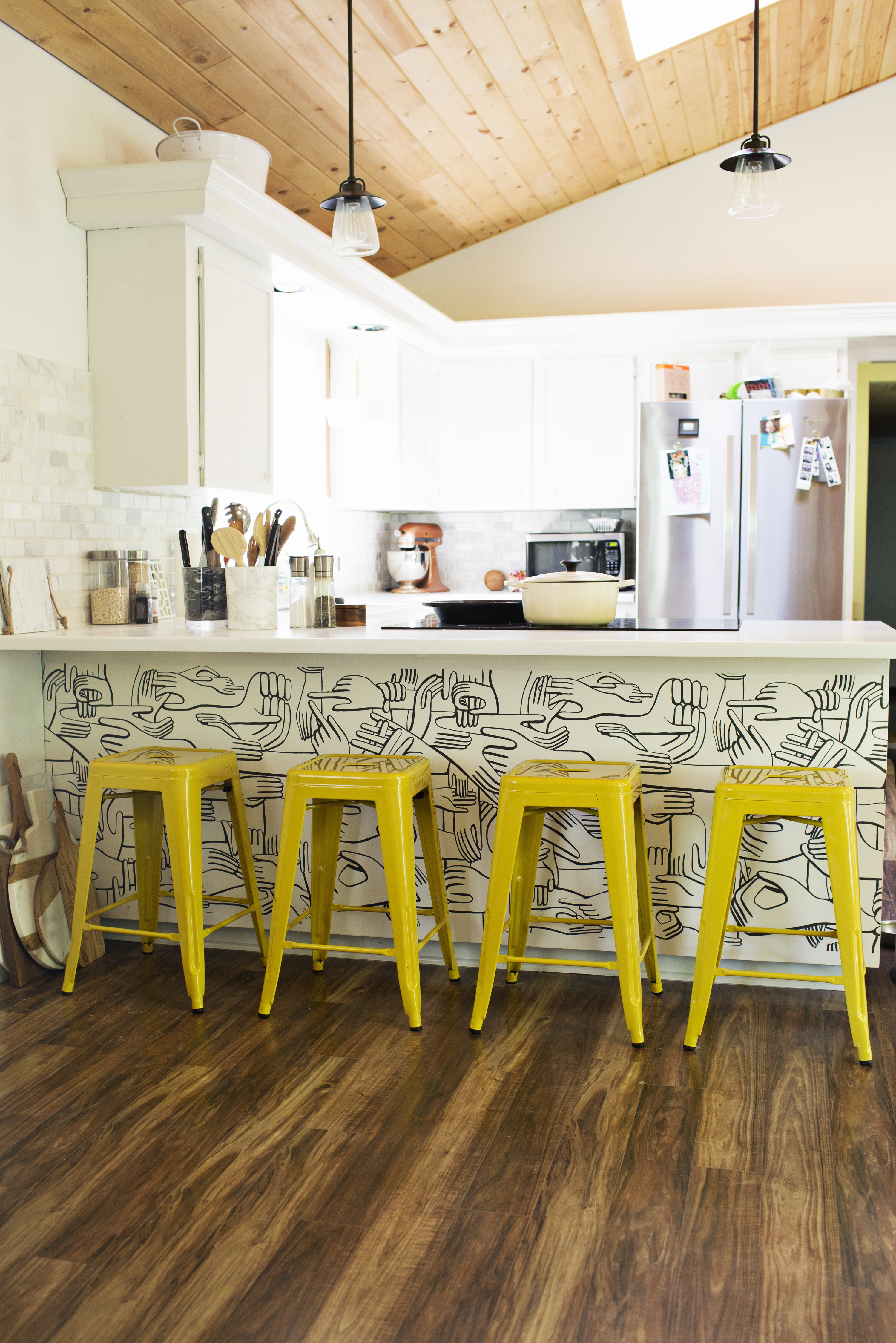 5 Ways To Use Wallpaper In The Kitchen Kitchn