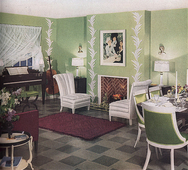 100 Years Of Style Living Rooms Through The Decades Apartment Therapy