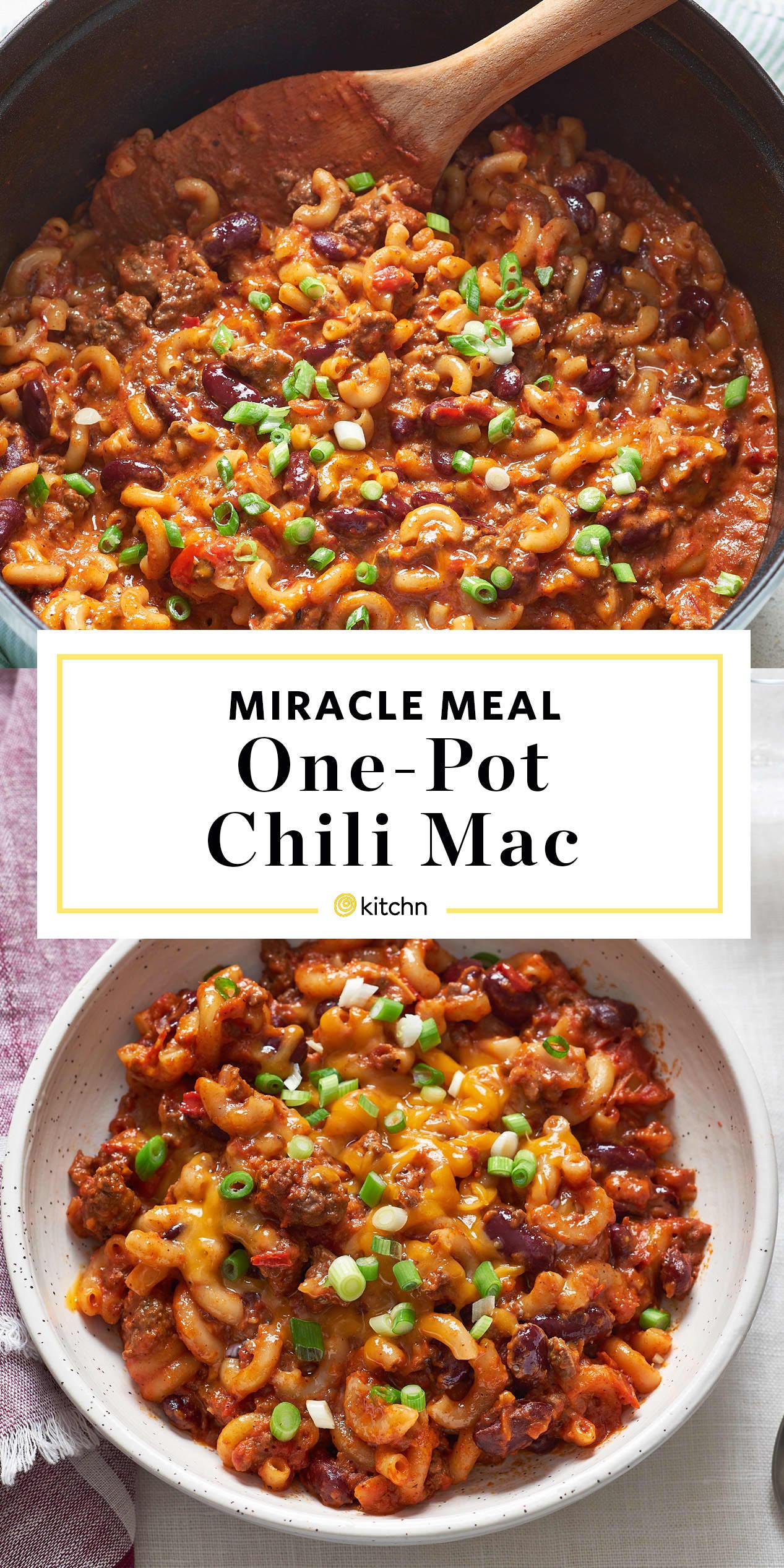 How To Make One Pot Chili Mac Kitchn