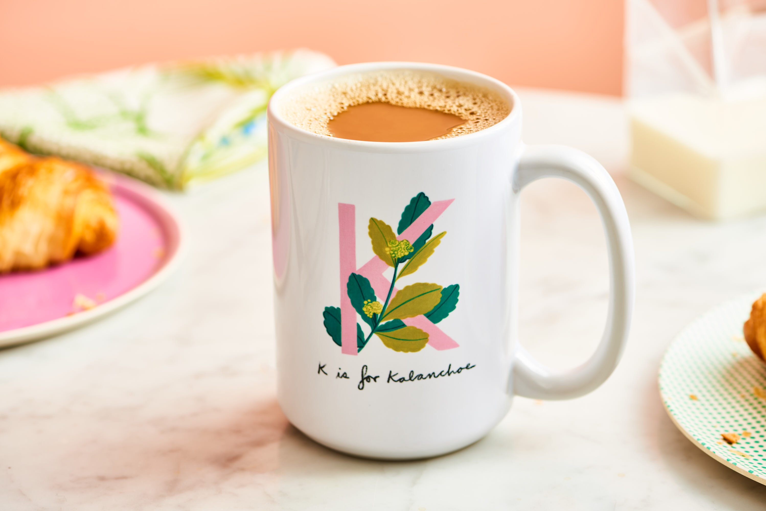 We Just Launched a Line of Adorable Monogram Mugs for Plant Parents