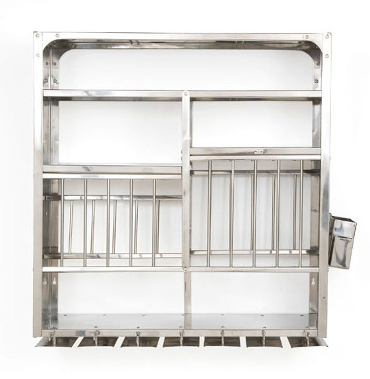 A Luxury Item For Small Kitchens A Stainless Steel Wall Mounted Dish Rack Kitchn