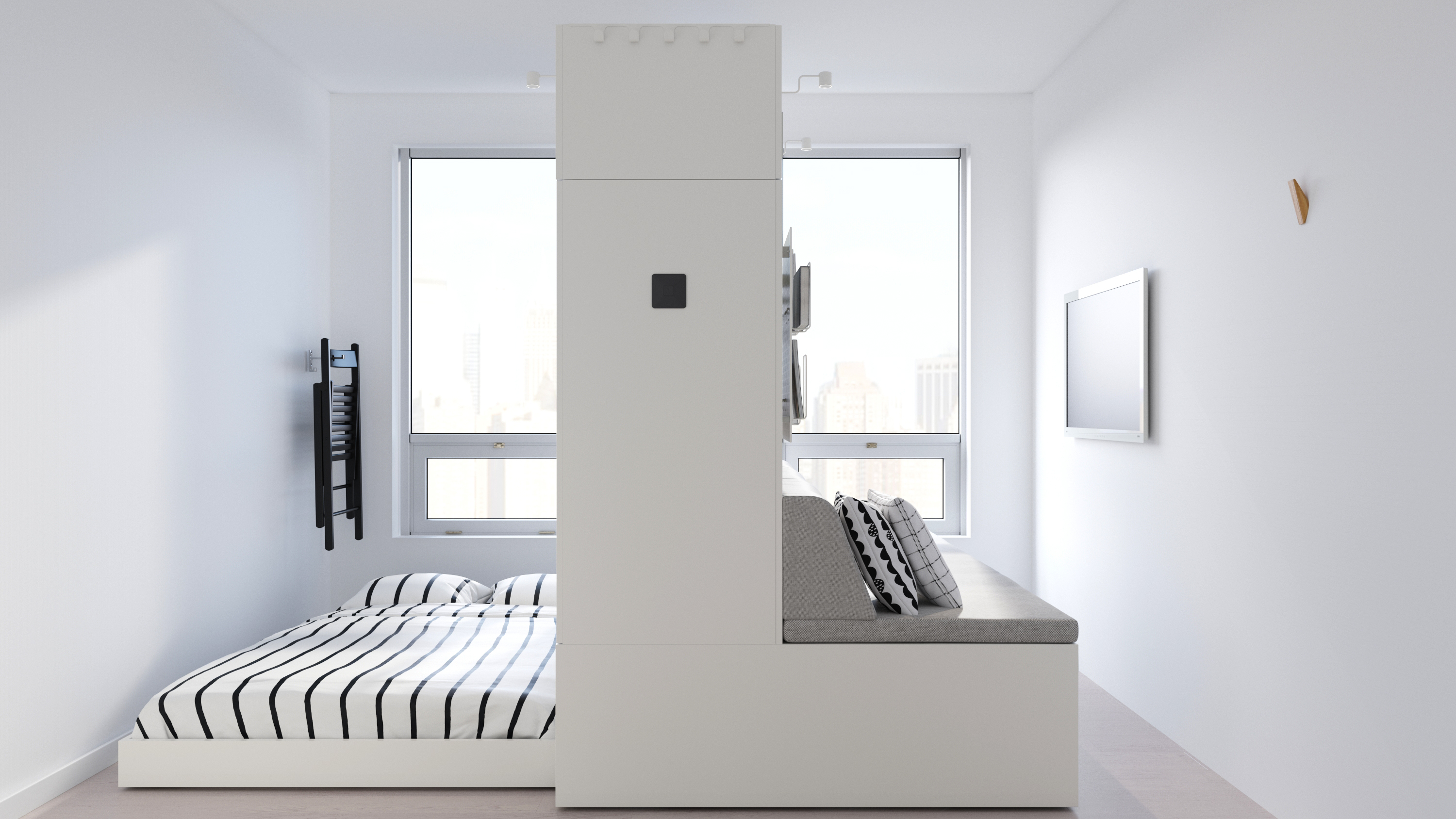Not Your Grandma's Murphy Beds: IKEA's Latest Line Is the Future of Small Space Furniture