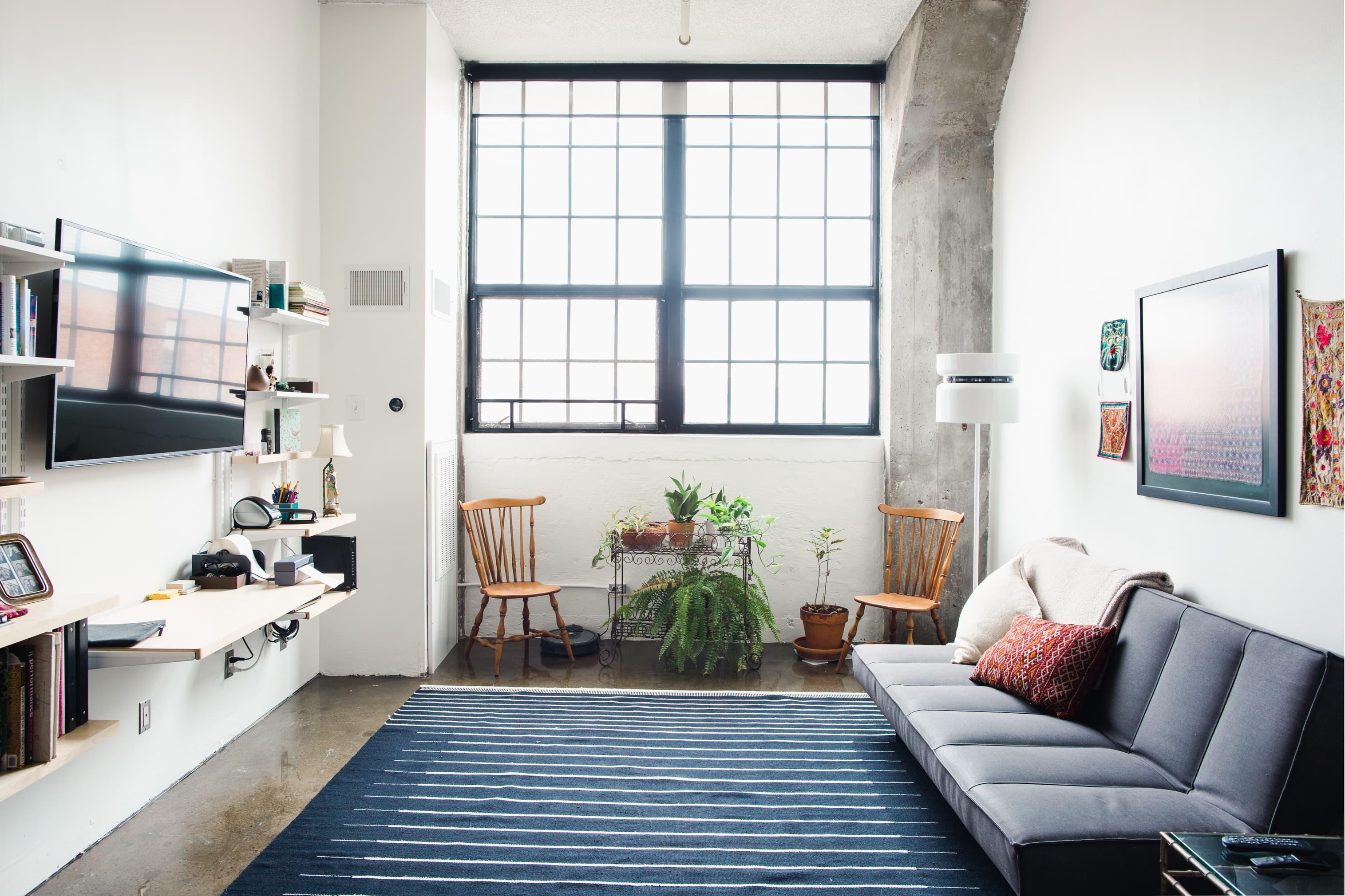 This Eclectic Minimal Detroit Loft Has A Modern Italian