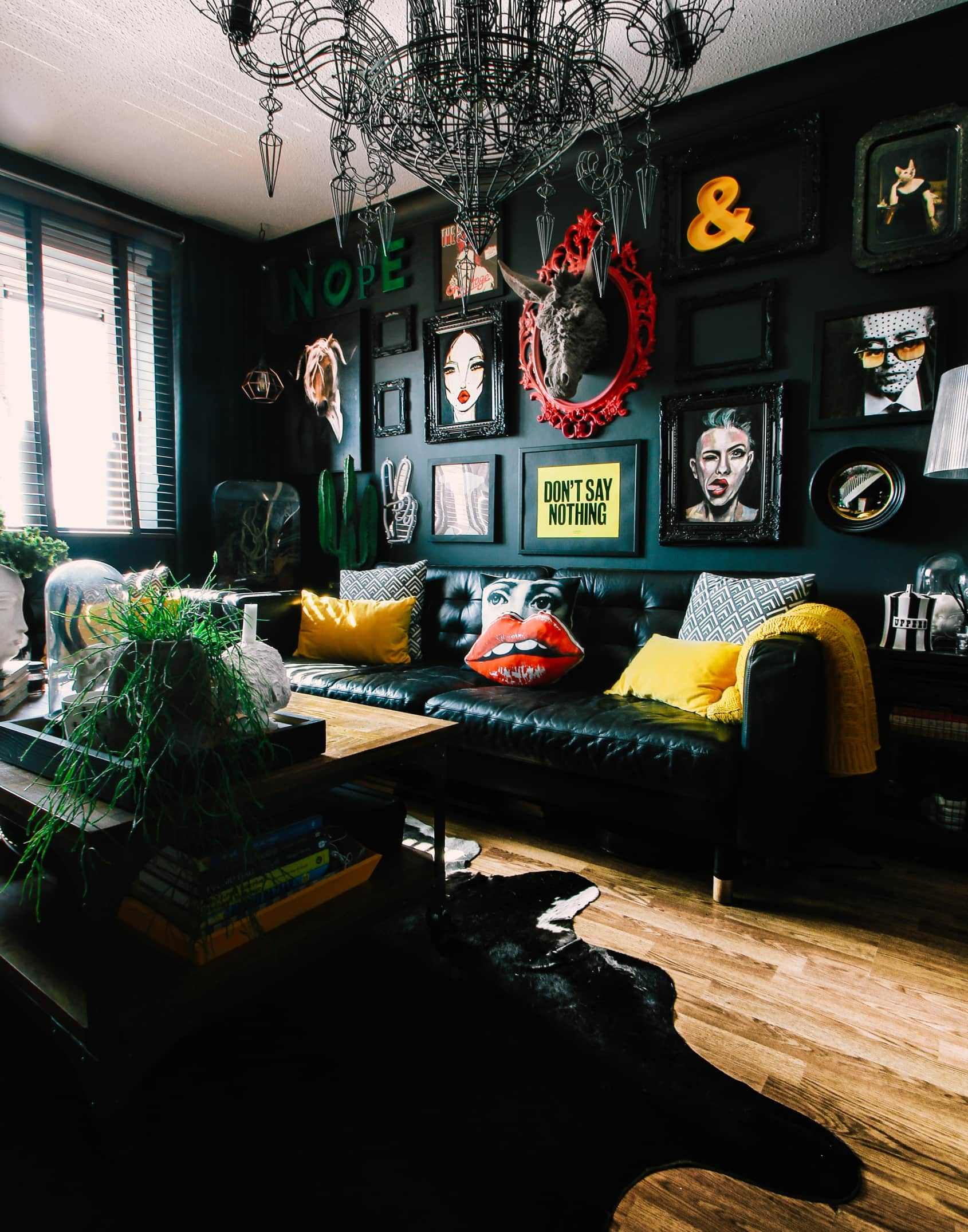 The Best Living Rooms With Dark Walls Apartment Therapy