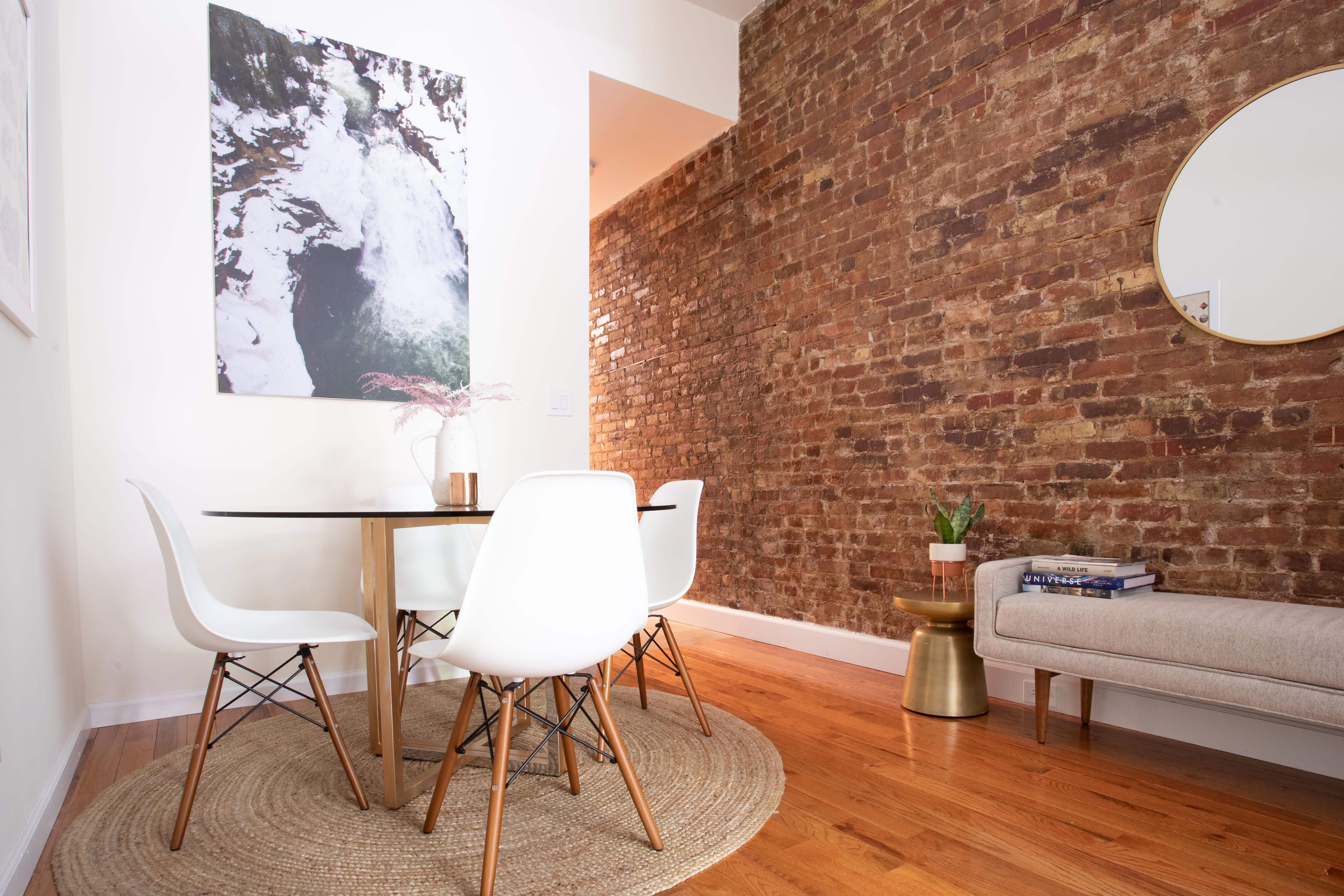 Strange Dark And Narrow Apartment Decorating Ideas Apartment Therapy Customarchery Wood Chair Design Ideas Customarcherynet