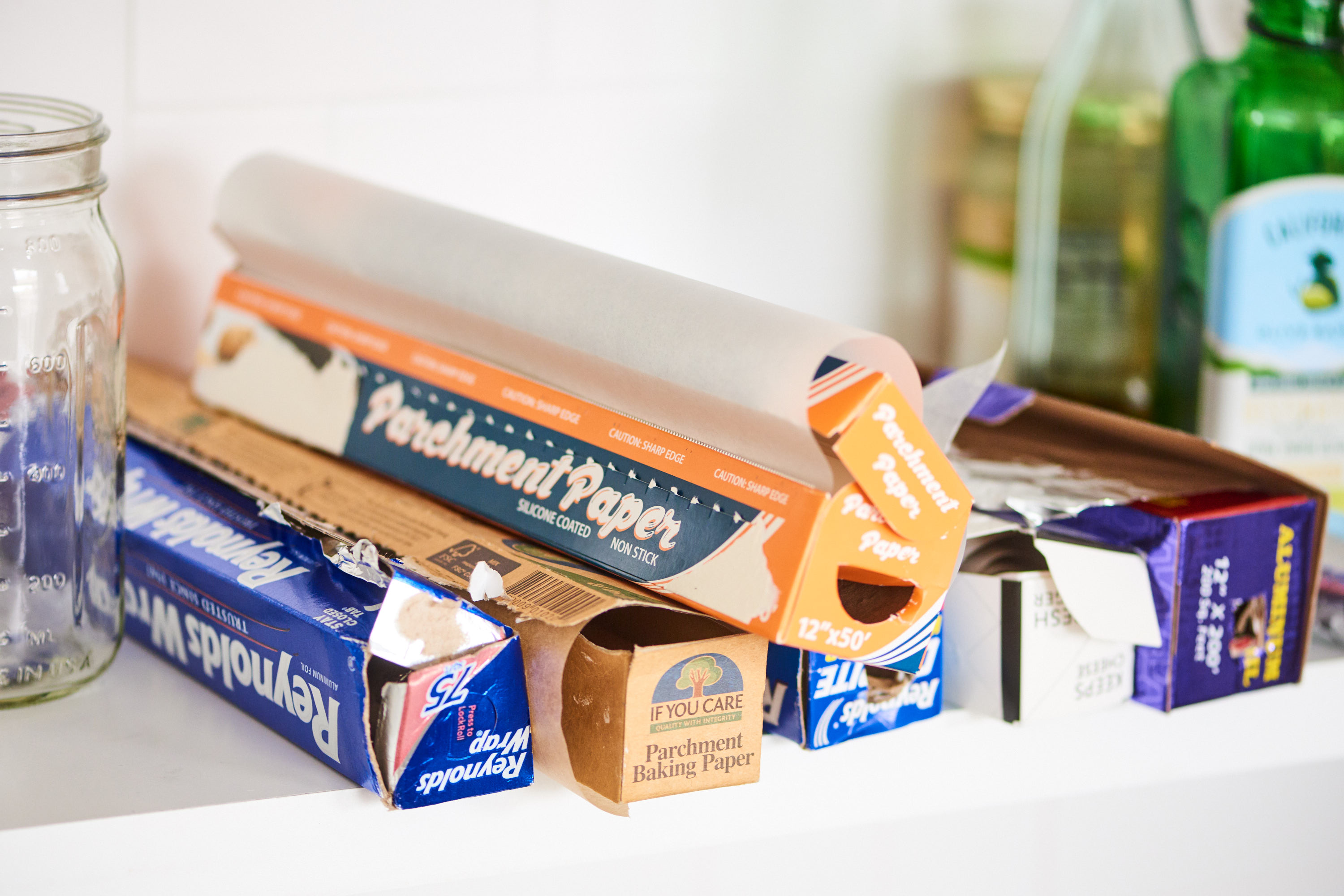 7 Clever Ways To Organize Plastic Wrap Foil Containers In Your Kitchen Kitchn