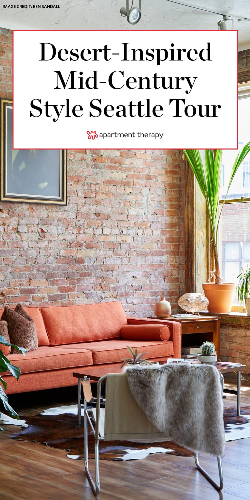 Amazing Mid Century Modern Desert Inspired Seattle Loft Tour Ncnpc Chair Design For Home Ncnpcorg