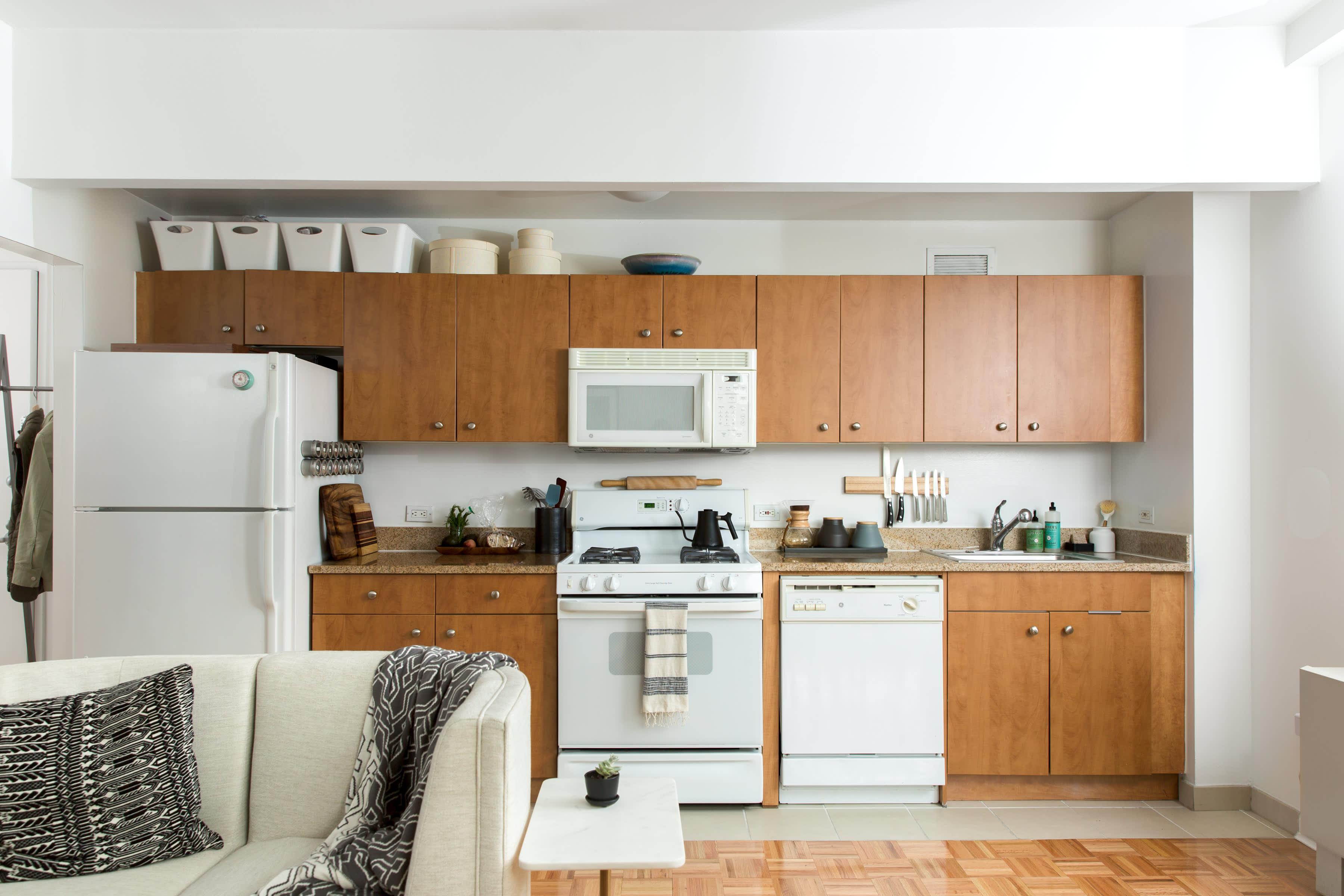 9+ Best Small Kitchen Design Ideas   Decorating Tiny Apartment ...