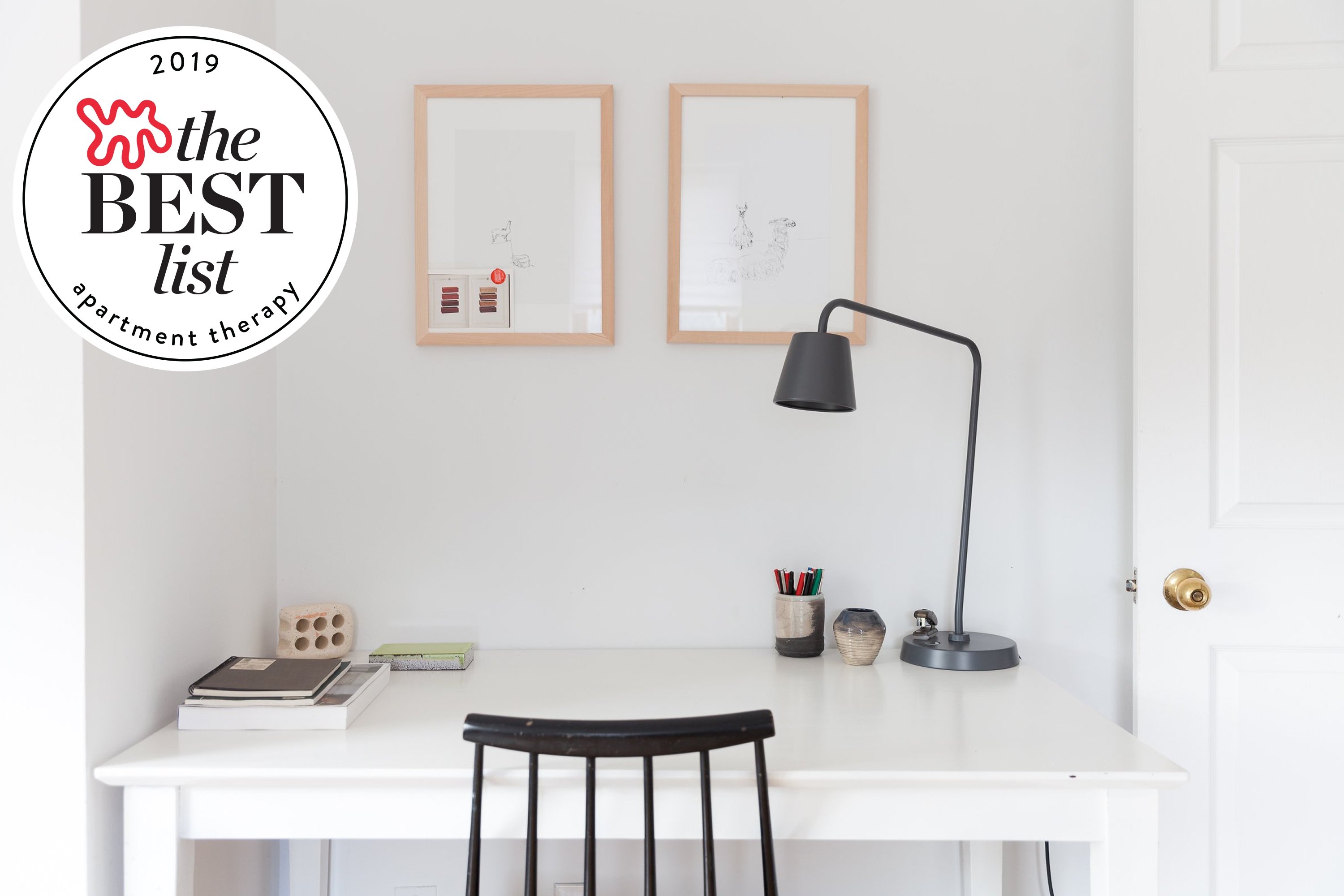 10 Best Desks For Small Spaces Narrow Small Desks To Buy Apartment Therapy