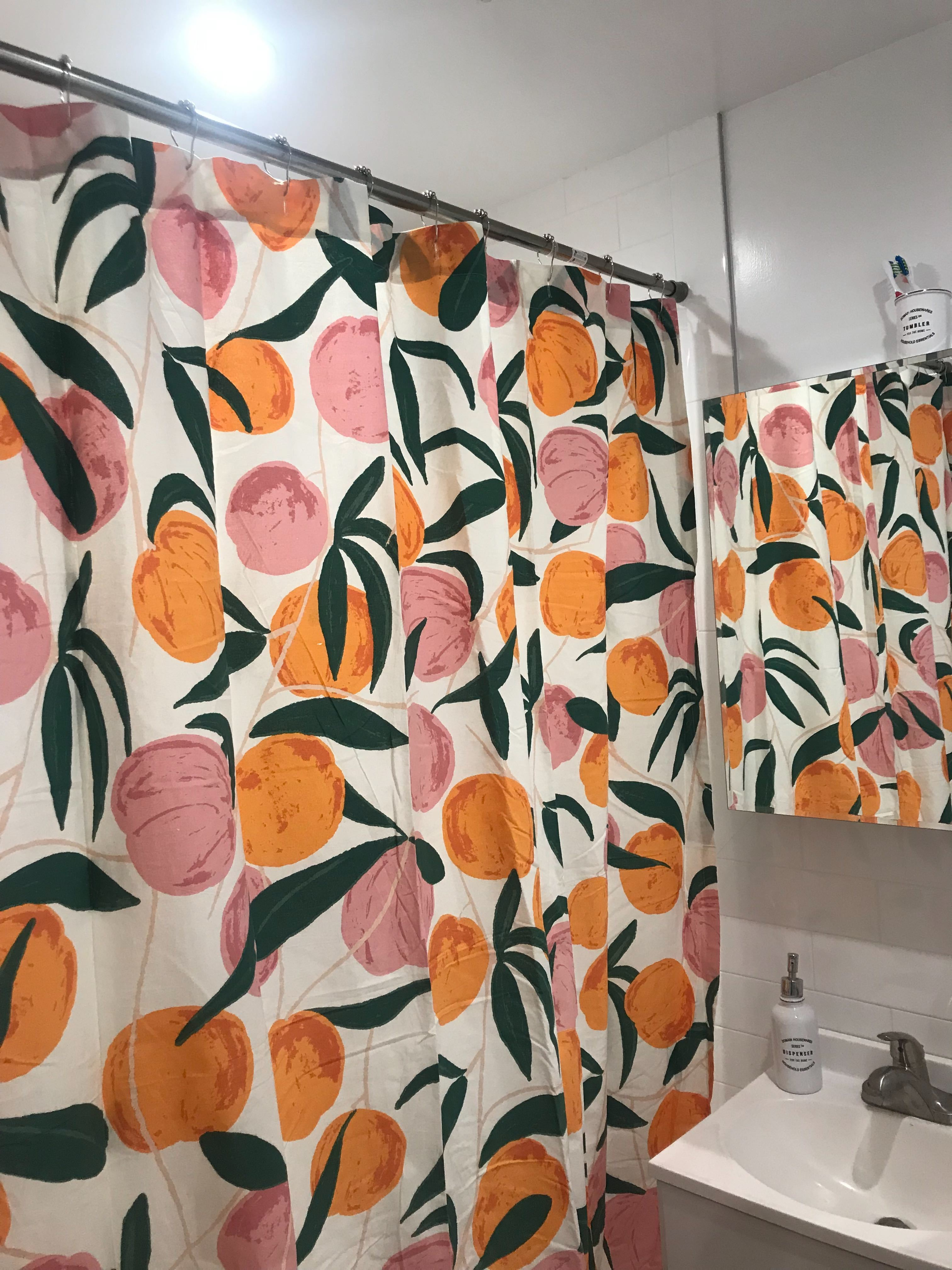 Urban Outfitters Allover Fruits Shower Curtain Review Apartment Therapy