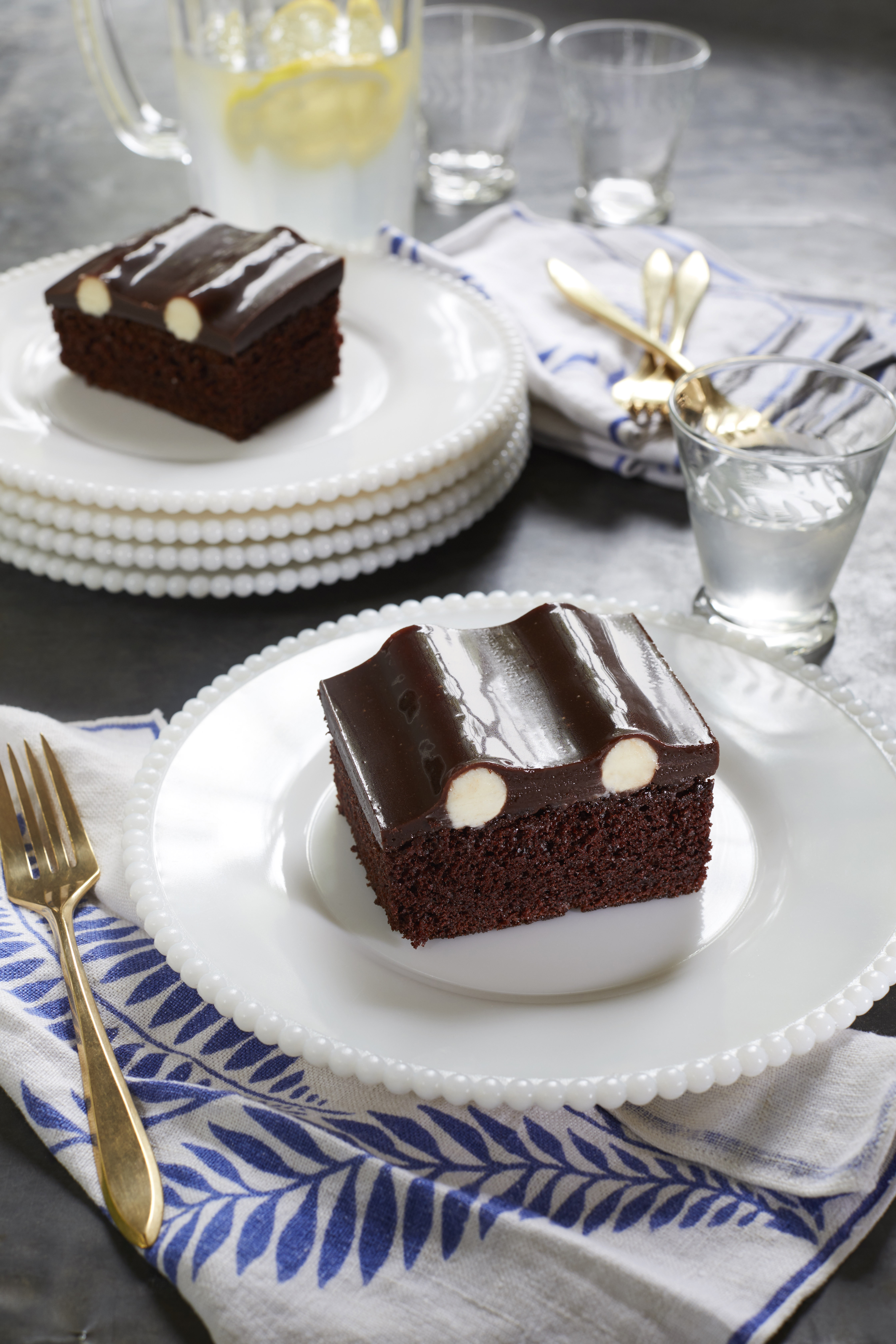 Chocolate Bumpy Cake
