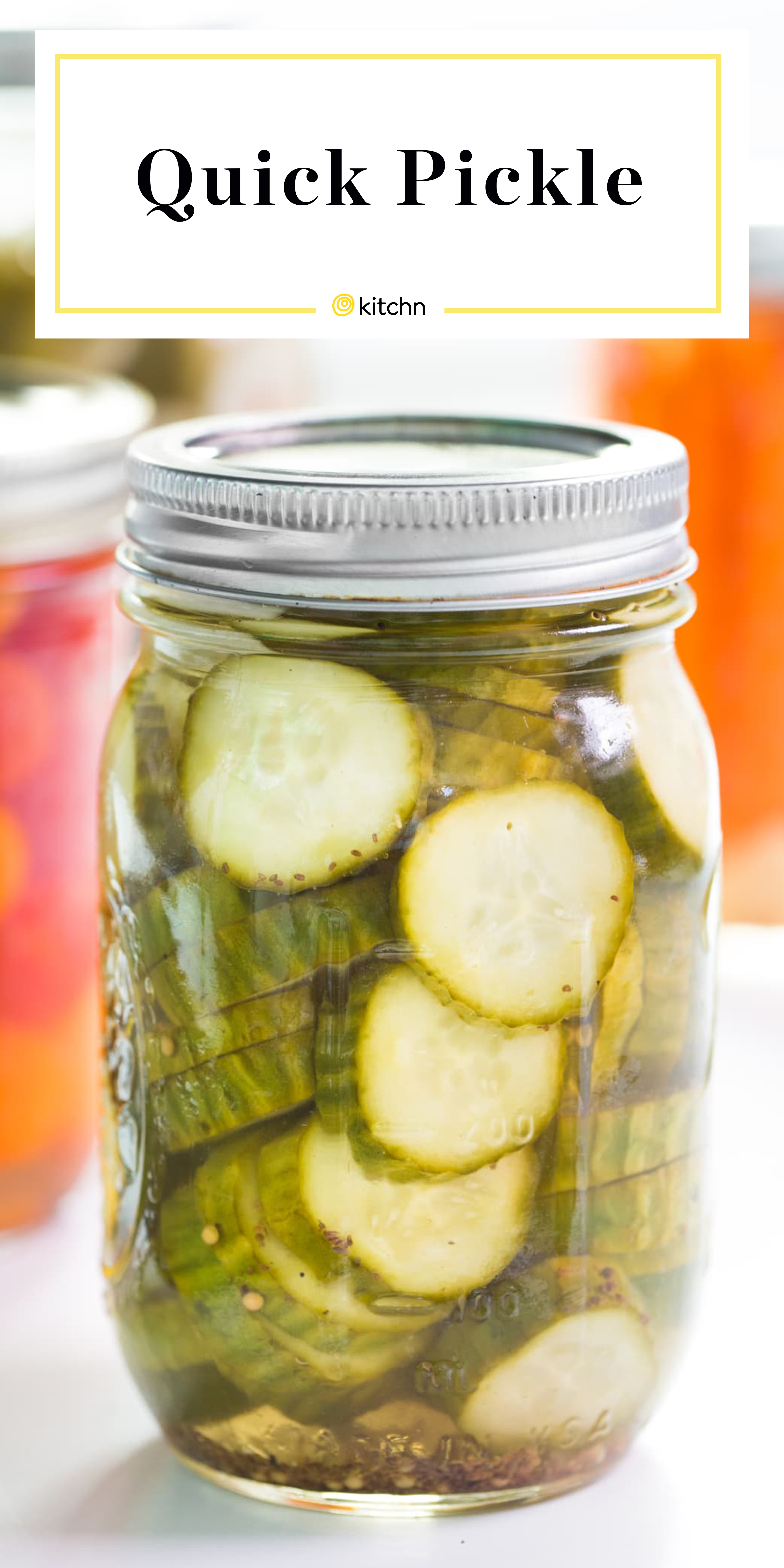 How To Quick Pickle Any Vegetable Kitchn