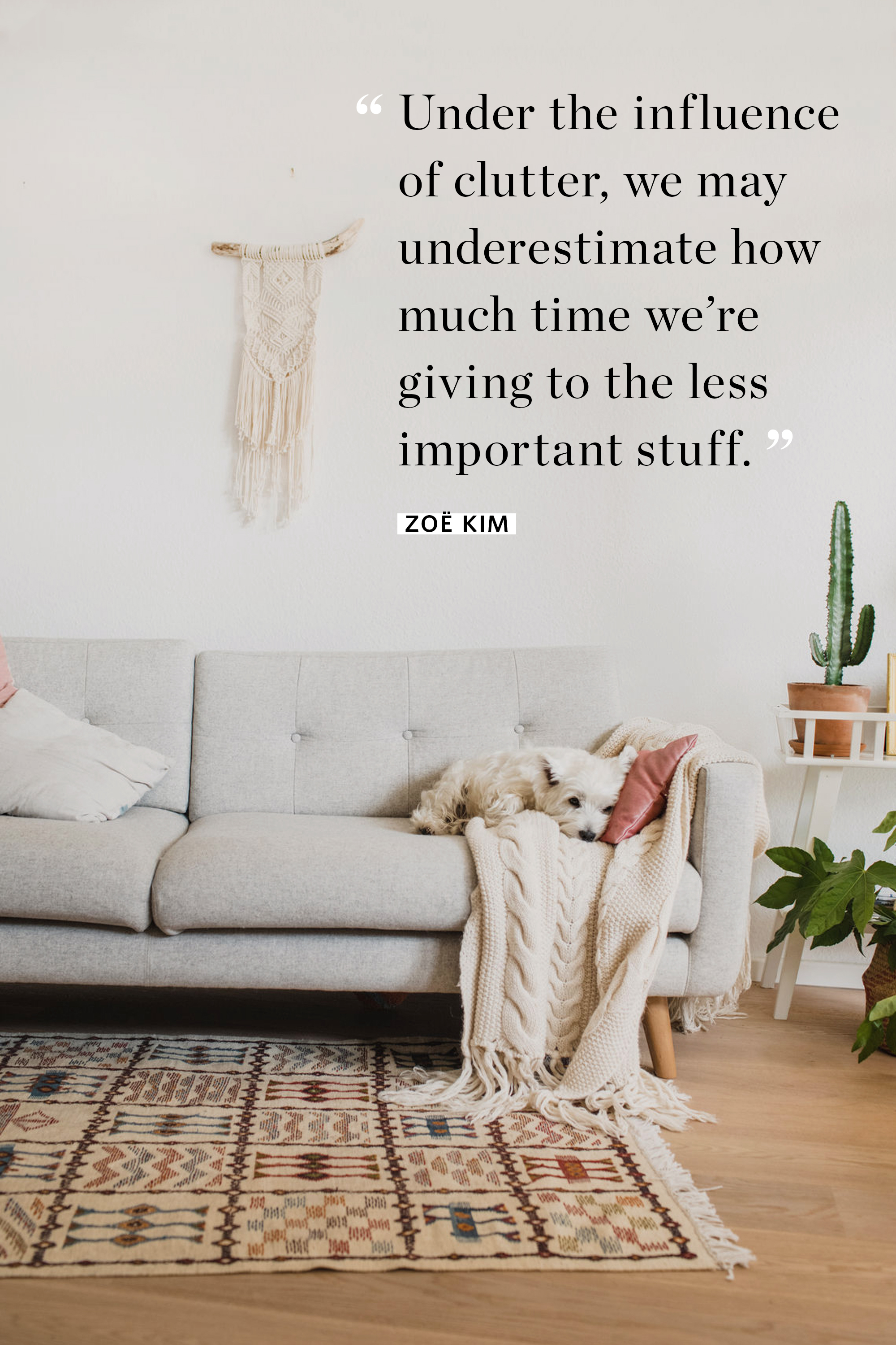 10 Quotes That Will Empower You to Declutter Anything | Apartment Therapy