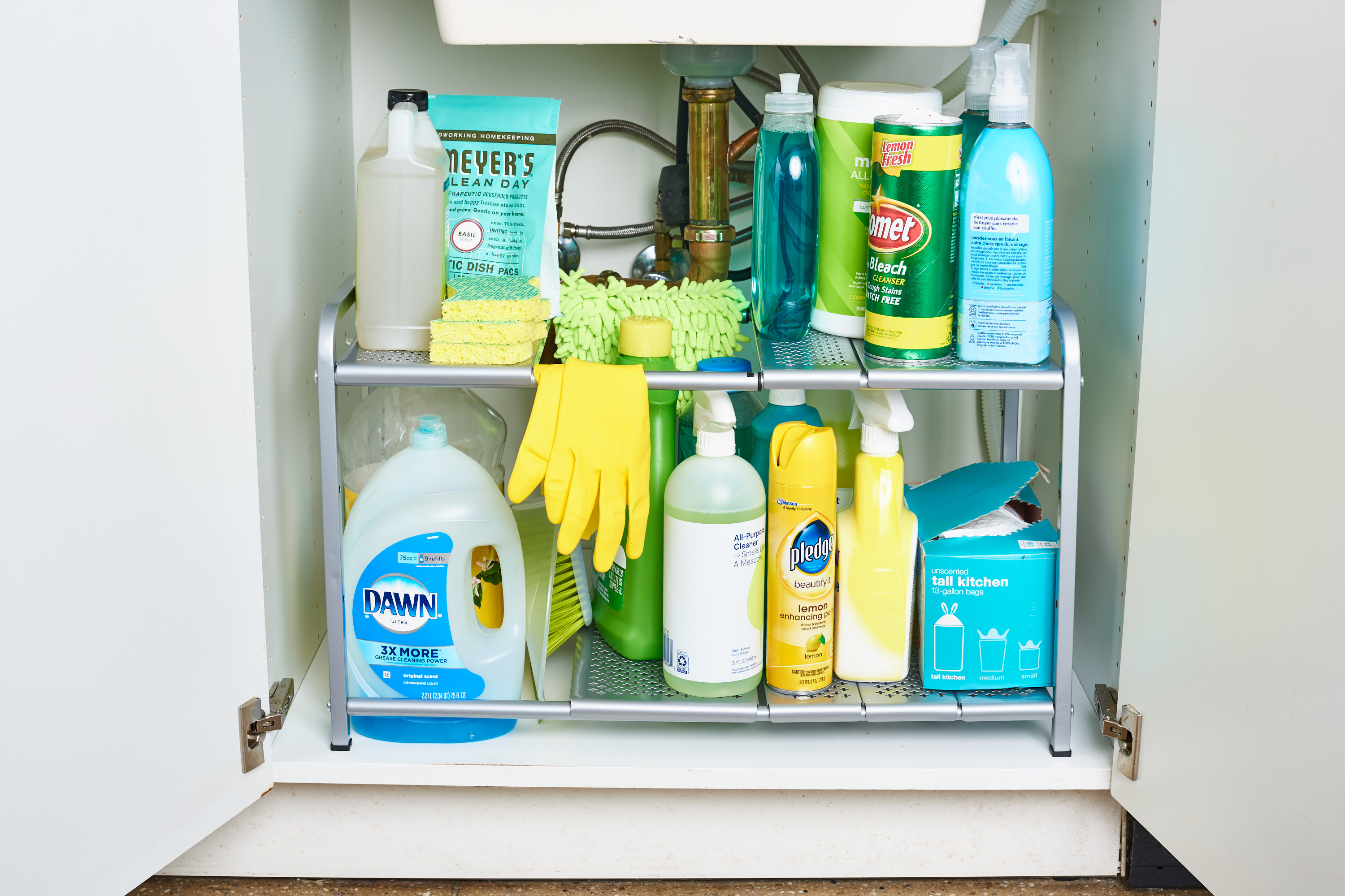 The Best Ways To Organize Cleaning Supplies Kitchn