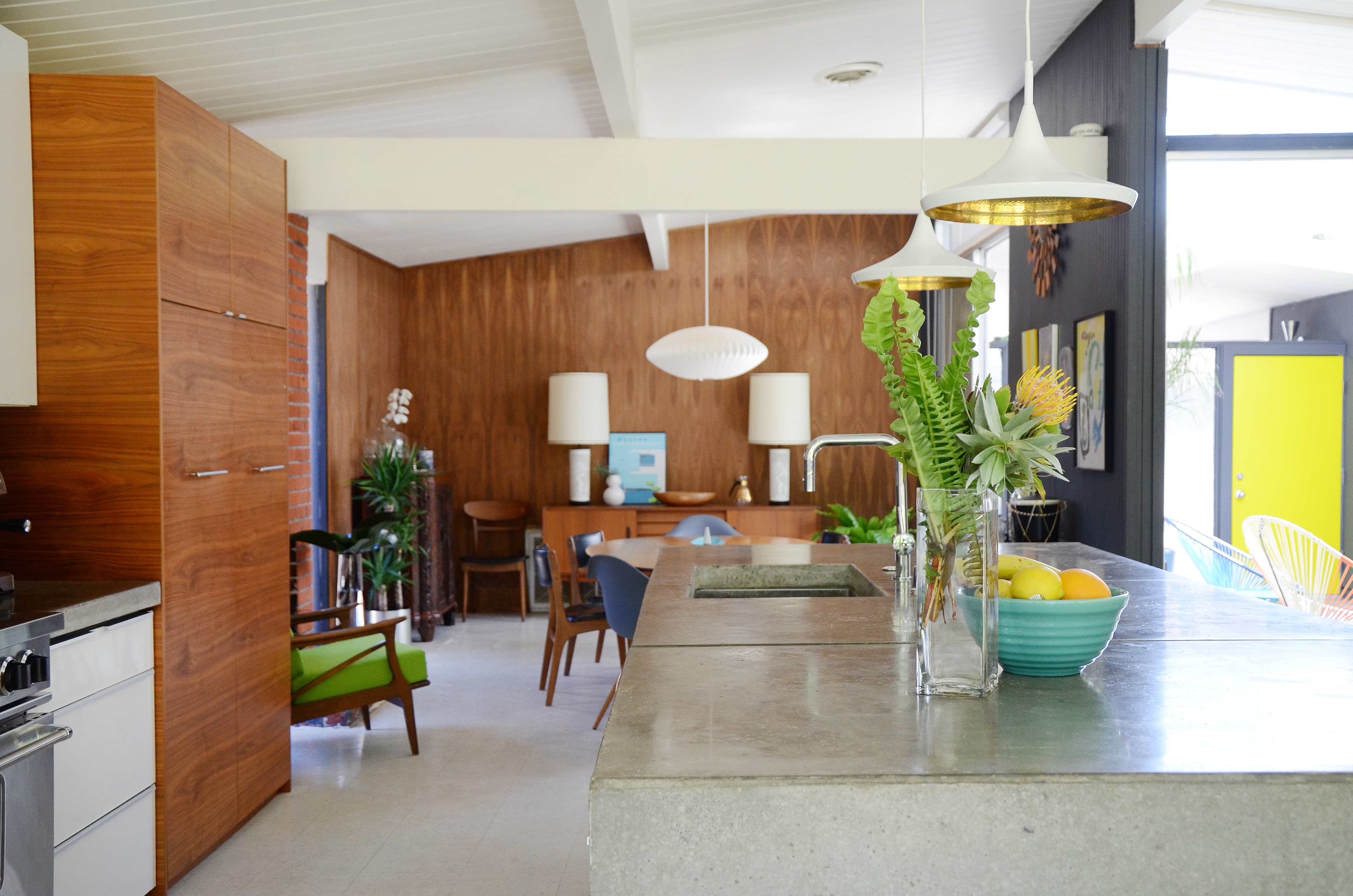 Image of: House Tour A Remodeled Eichler Home In Northern California Apartment Therapy