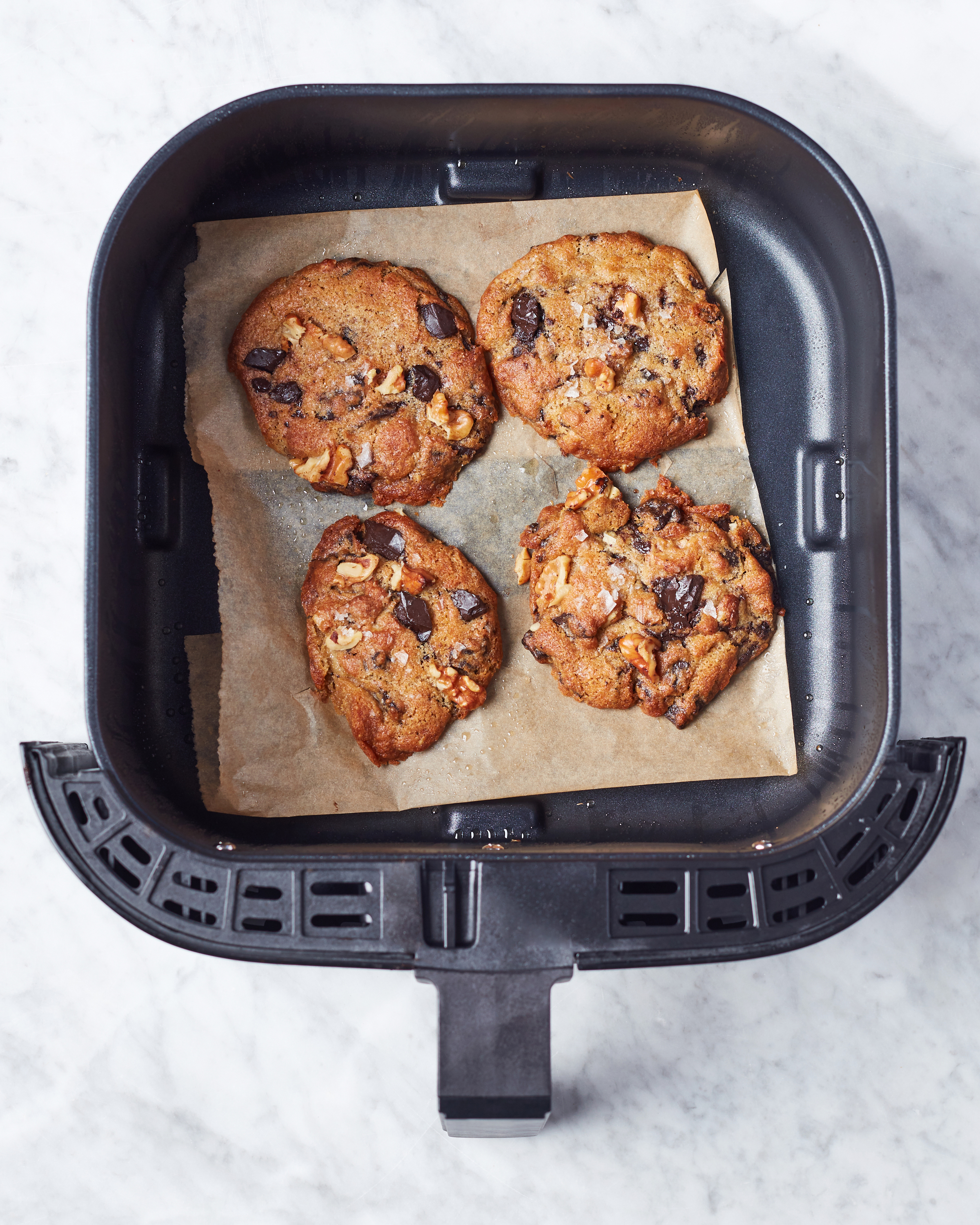 Christmas Cookie Recipes 2019.Air Fryer Chocolate Chip Cookies