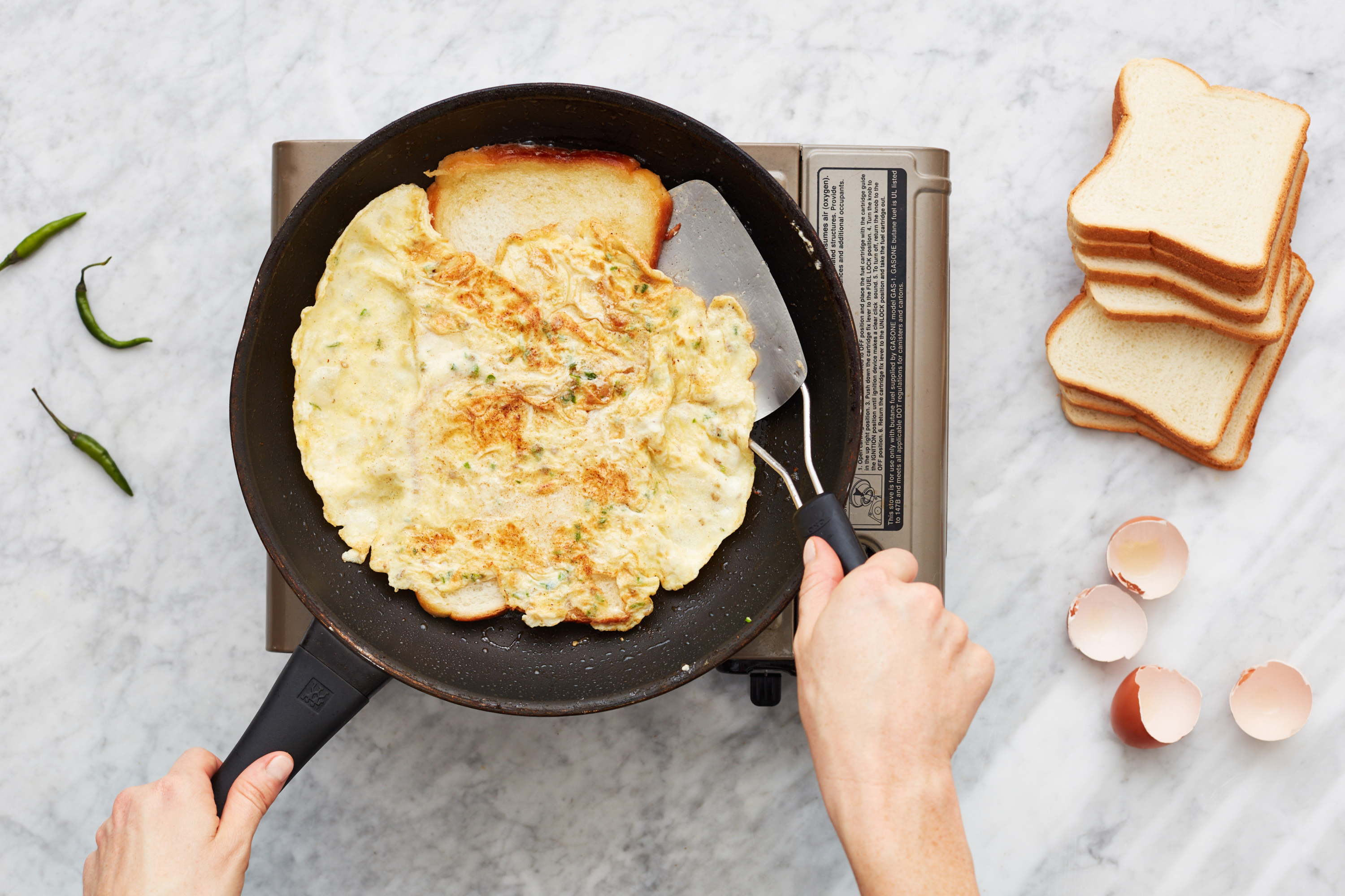 I Tried The Viral Indian Bread Omelet Technique From Reddit