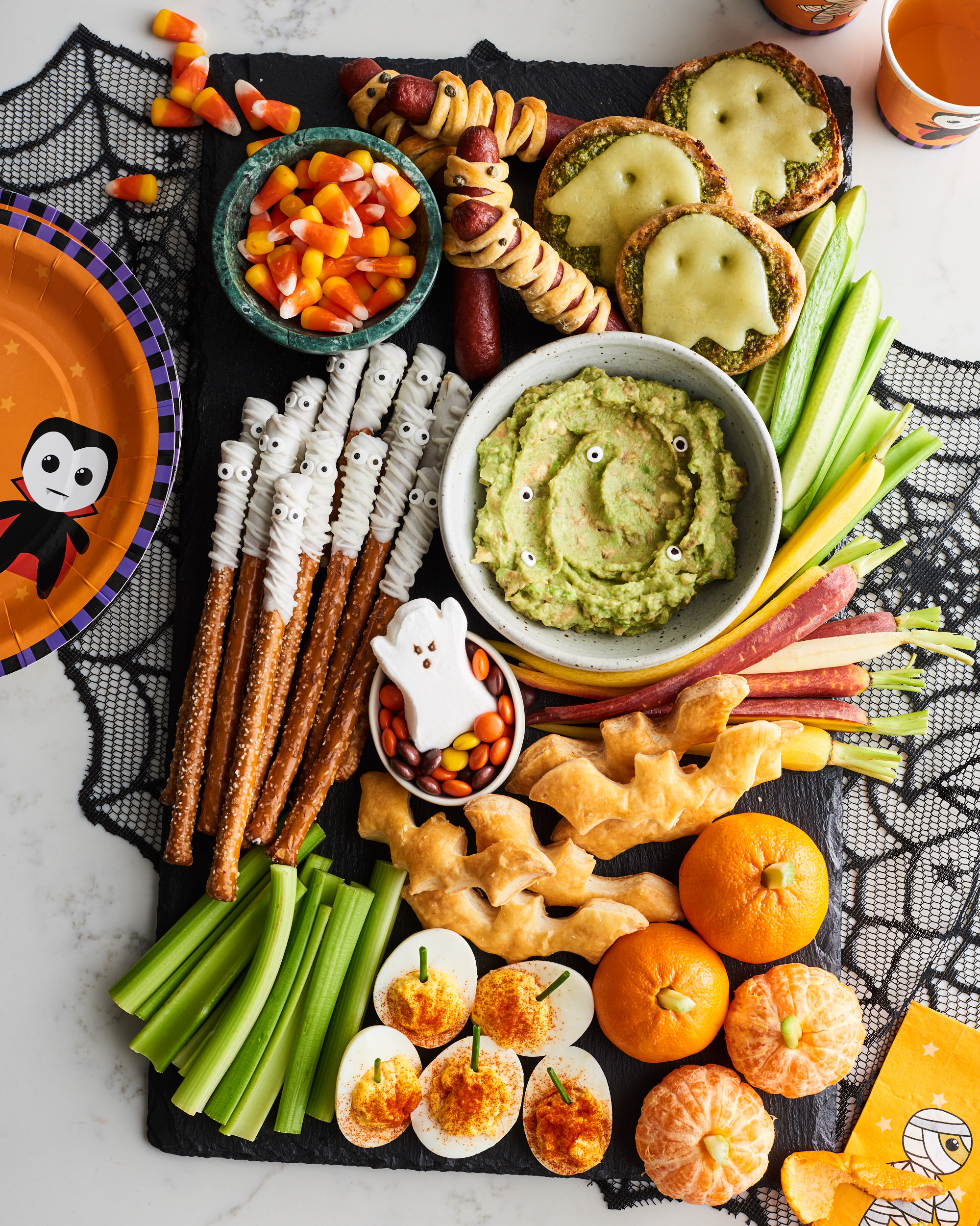 Here S How To Make A Halloween Snack Board Kitchn