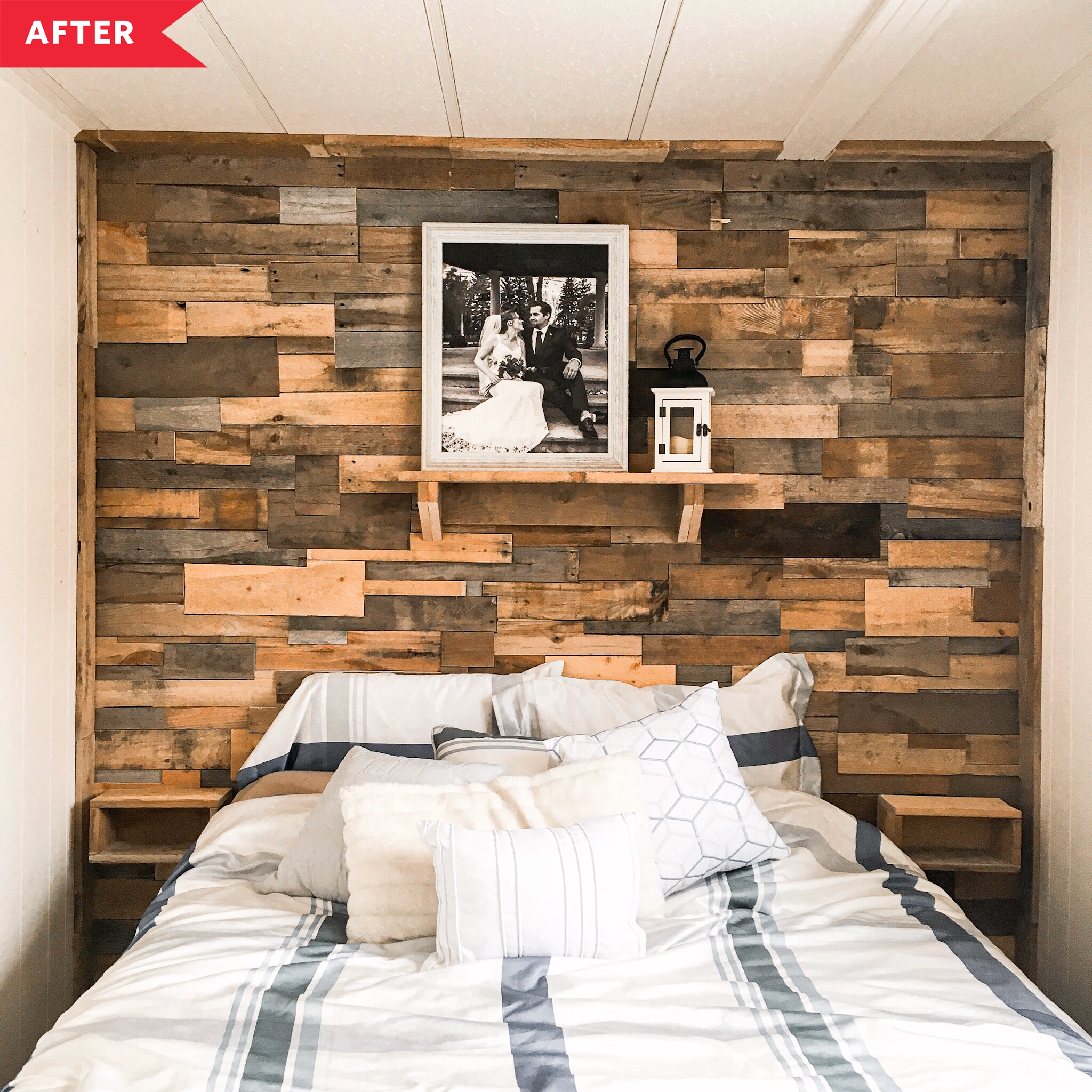 20 Best Bedroom Makeovers Before After Photos Of Redesigns Apartment Therapy