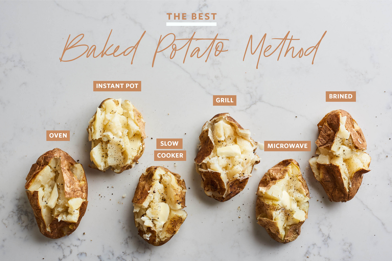 The Best Baked Potato Method Kitchn