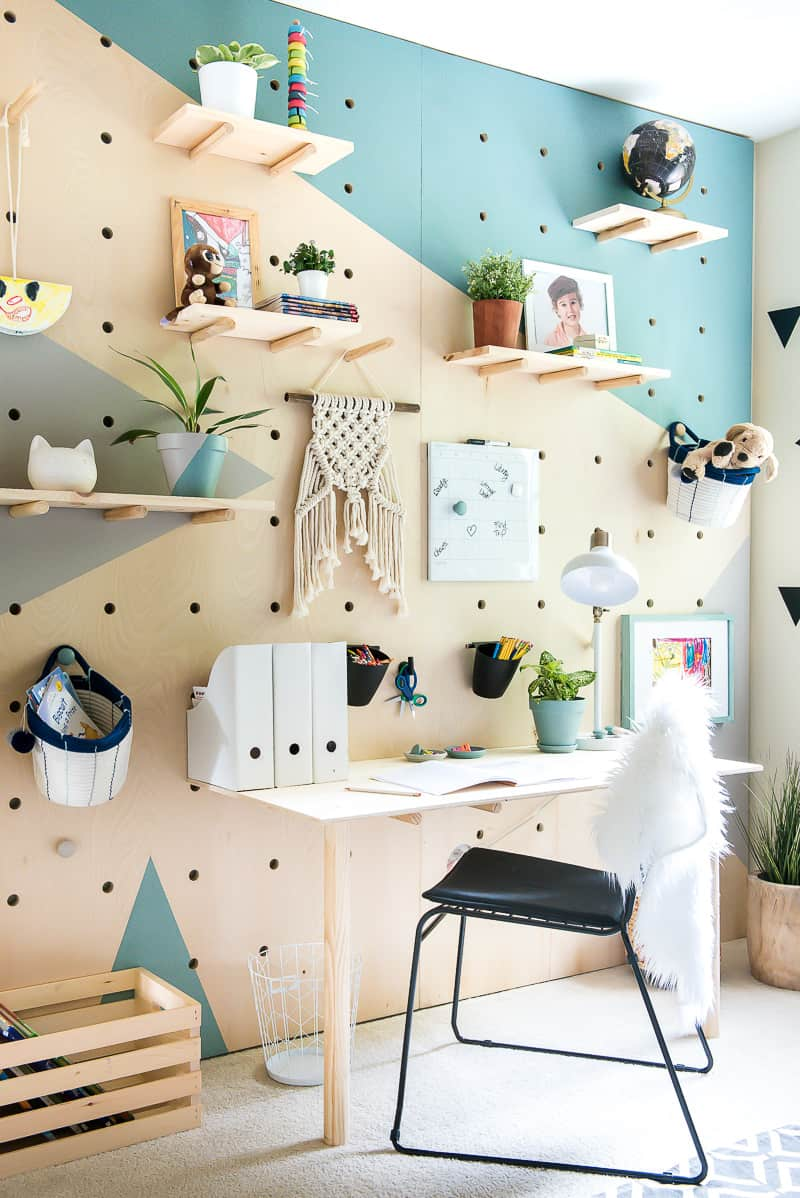 How To Decorate With Pegboard Apartment Therapy