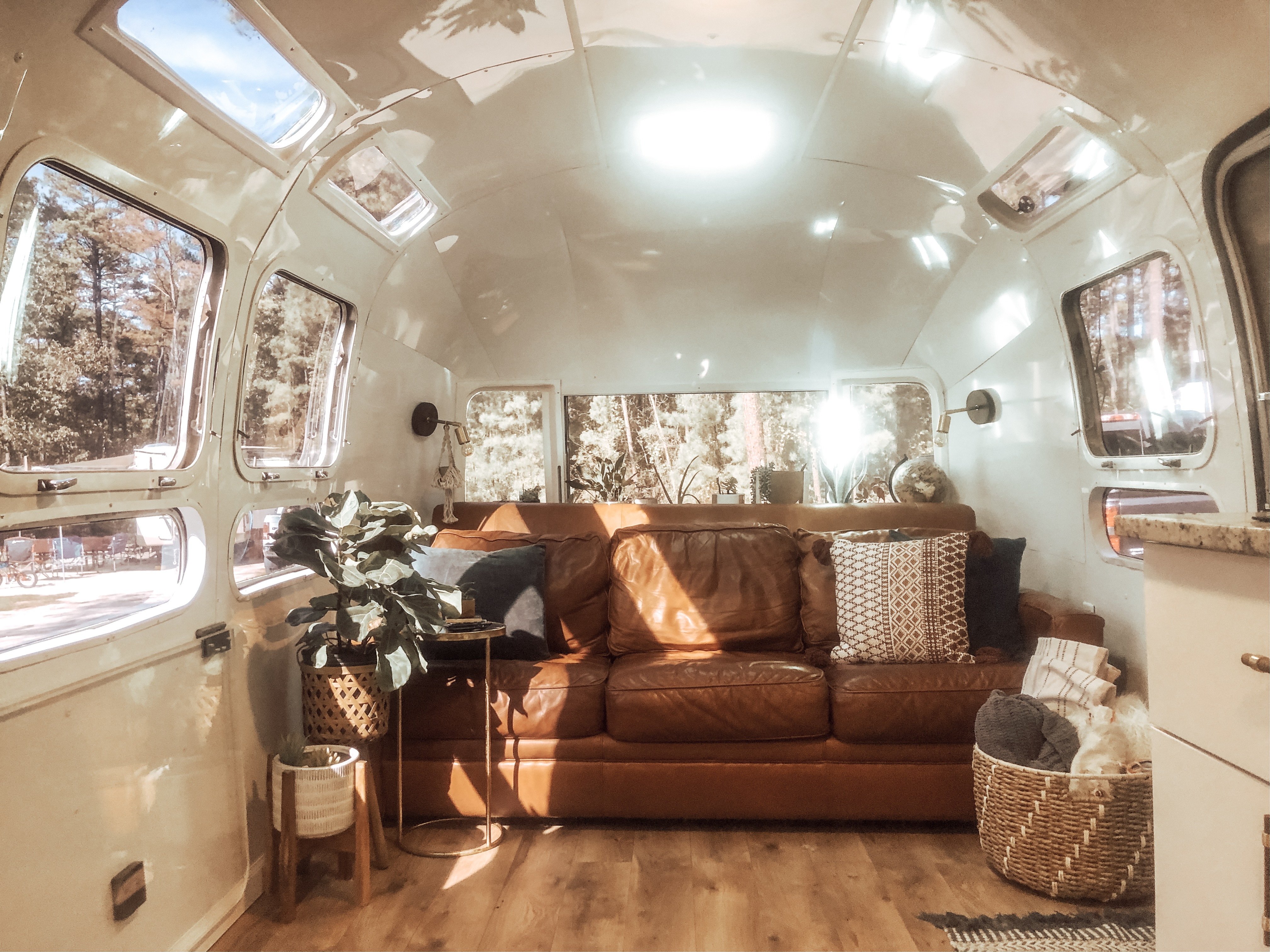 Magnificent 1972 Airstream Gut Renovation Tiny House Tour Apartment Andrewgaddart Wooden Chair Designs For Living Room Andrewgaddartcom