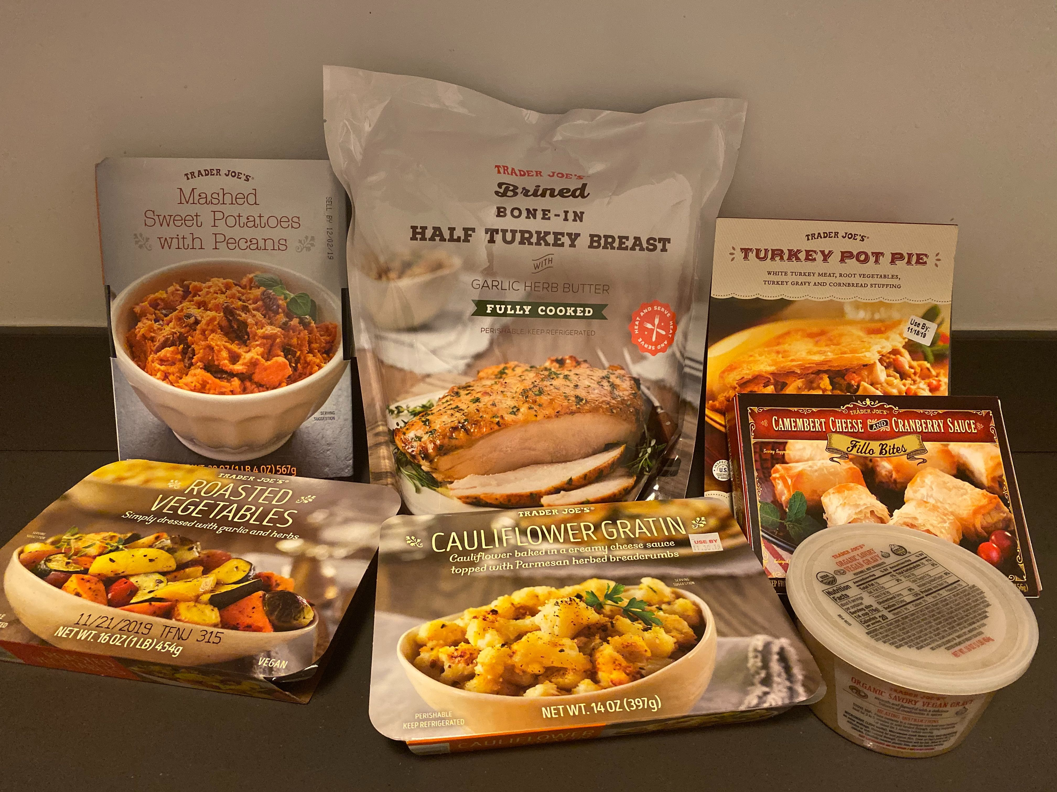 The Best Thanksgiving Groceries At Trader Joe S Kitchn