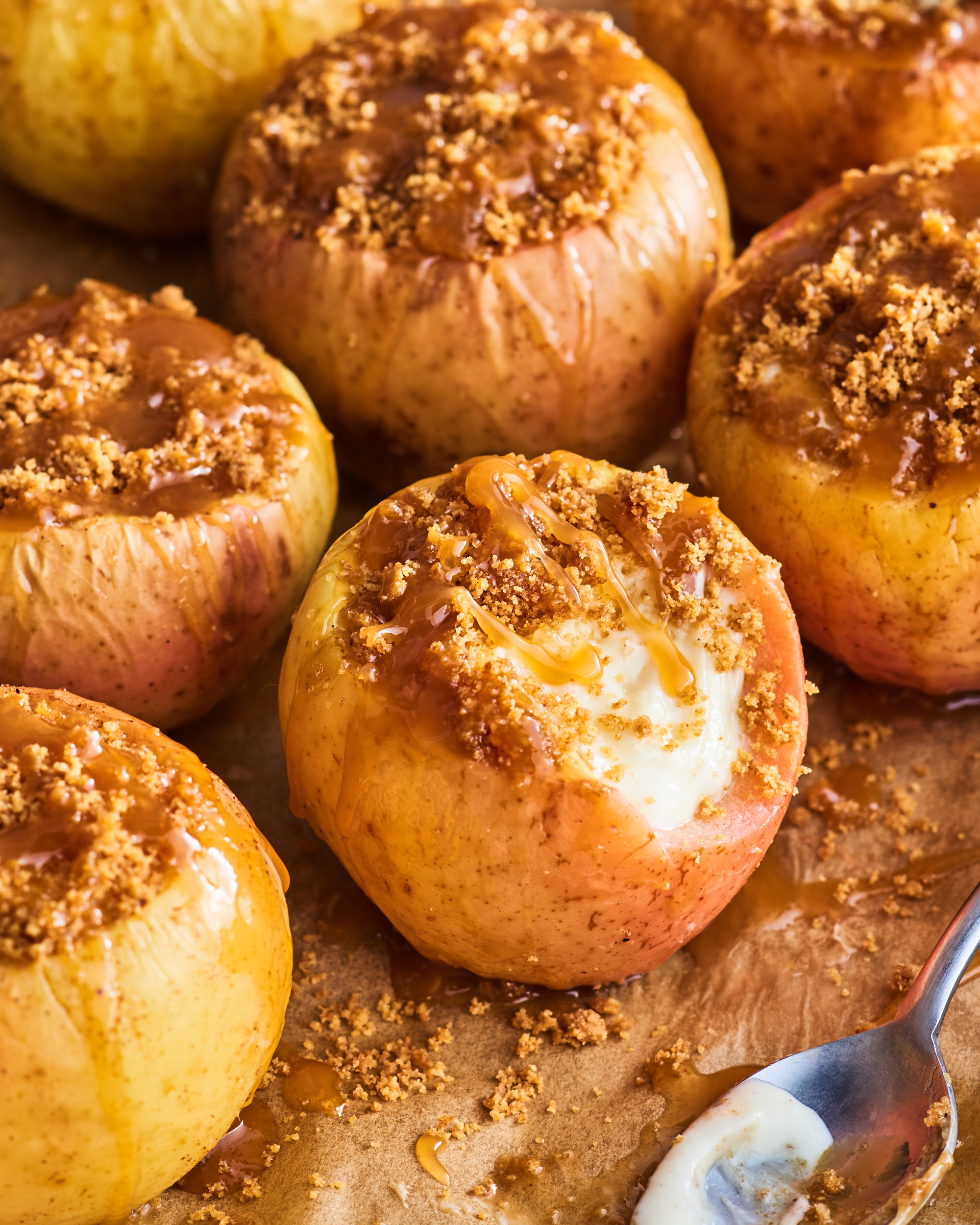 Cheesecake Stuffed Baked Apples Kitchn