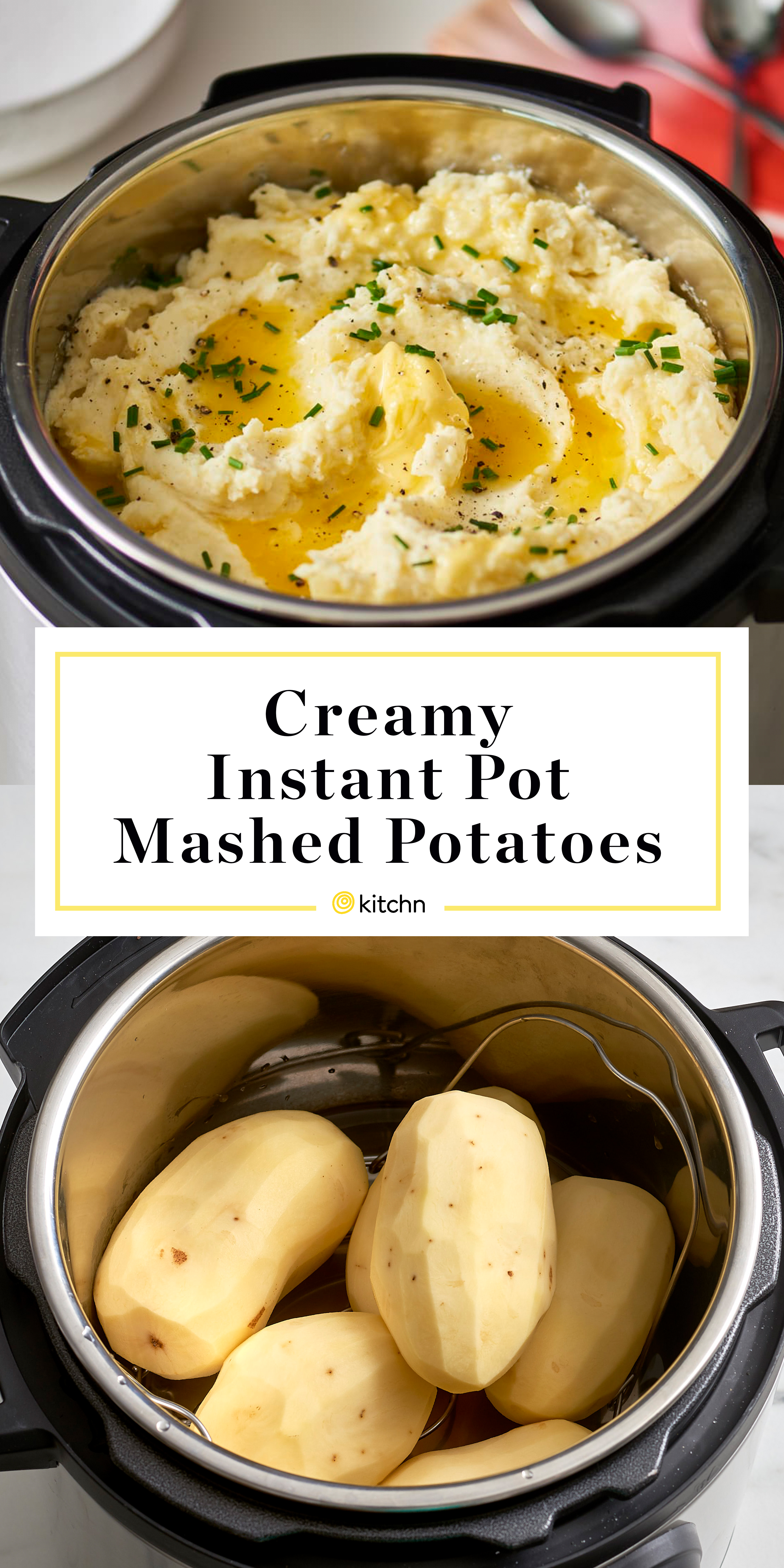 Instant Pot Mashed Potatoes Recipe Kitchn