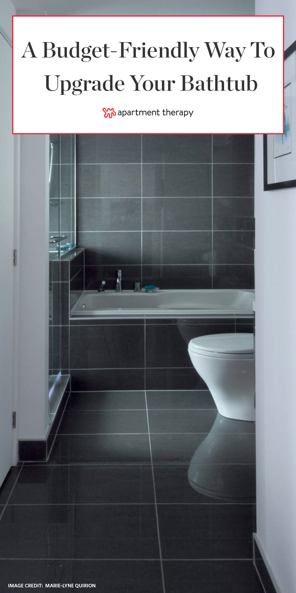 The Best Way To Give Your Bathroom Tile A Style Boost On The Cheap Apartment Therapy