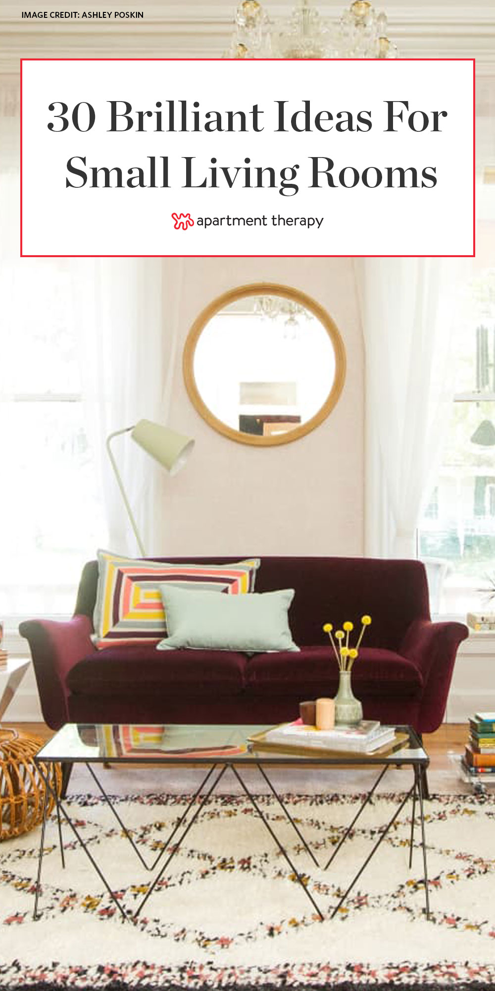 8 Small Living Room Decorating & Design Ideas - How to Decorate a