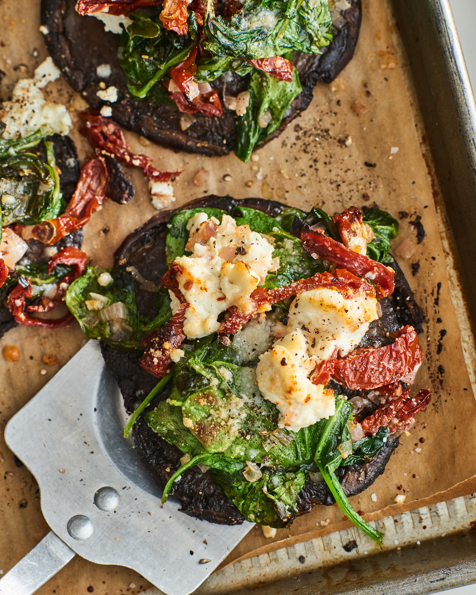 Stuffed Portobello Mushrooms Kitchn