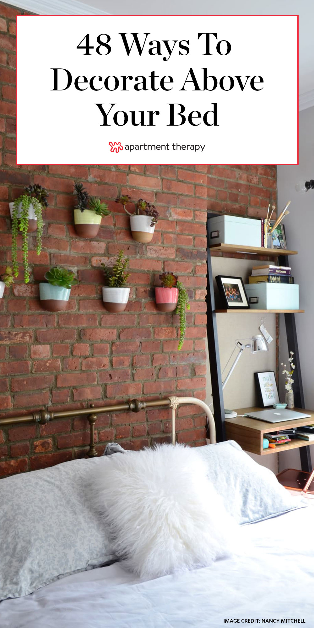 Wall Decor Hang Above Bed Ideas Apartment Therapy