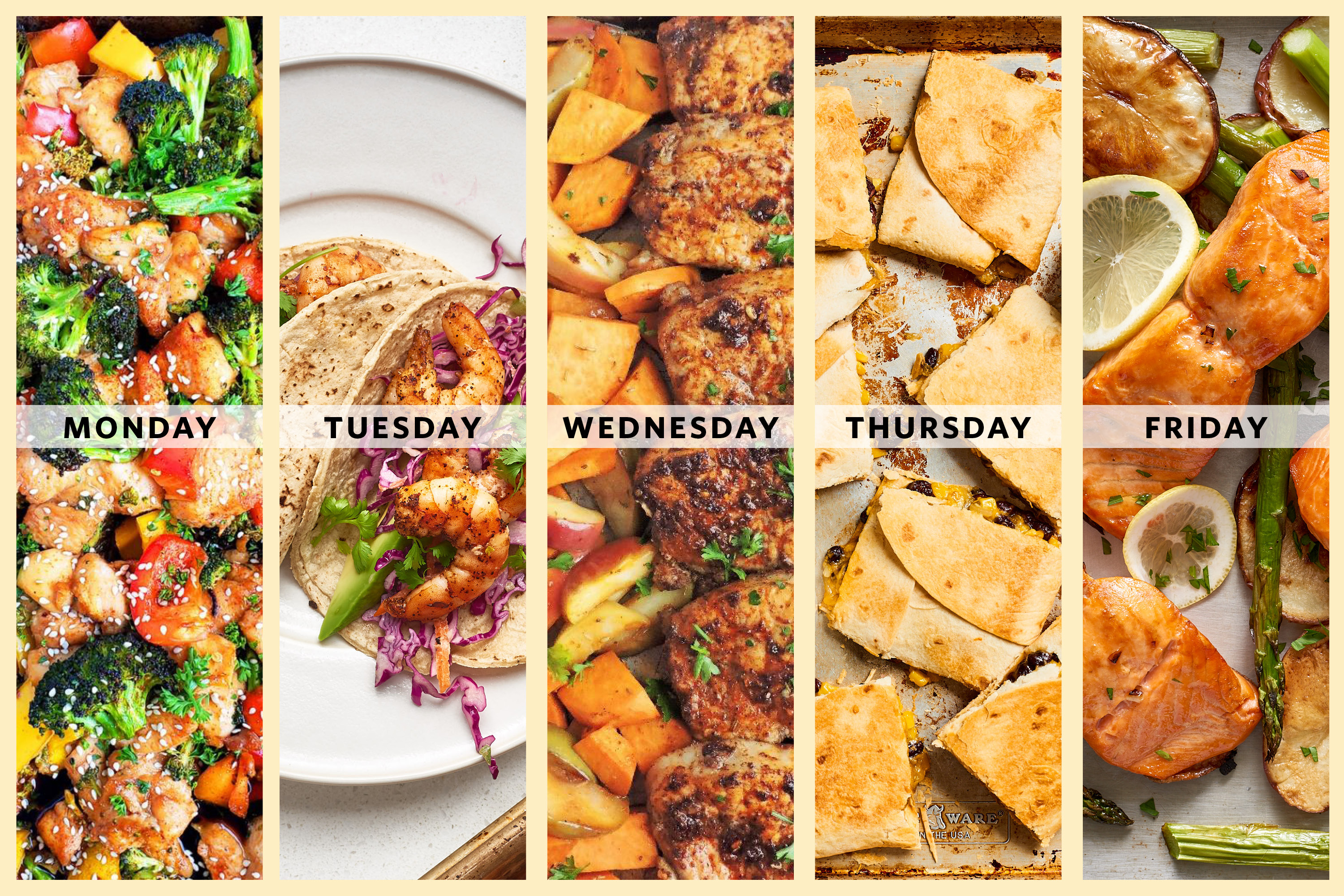 8 Weeks of Family Friendly Meal Plans to Make Right Now   Kitchn
