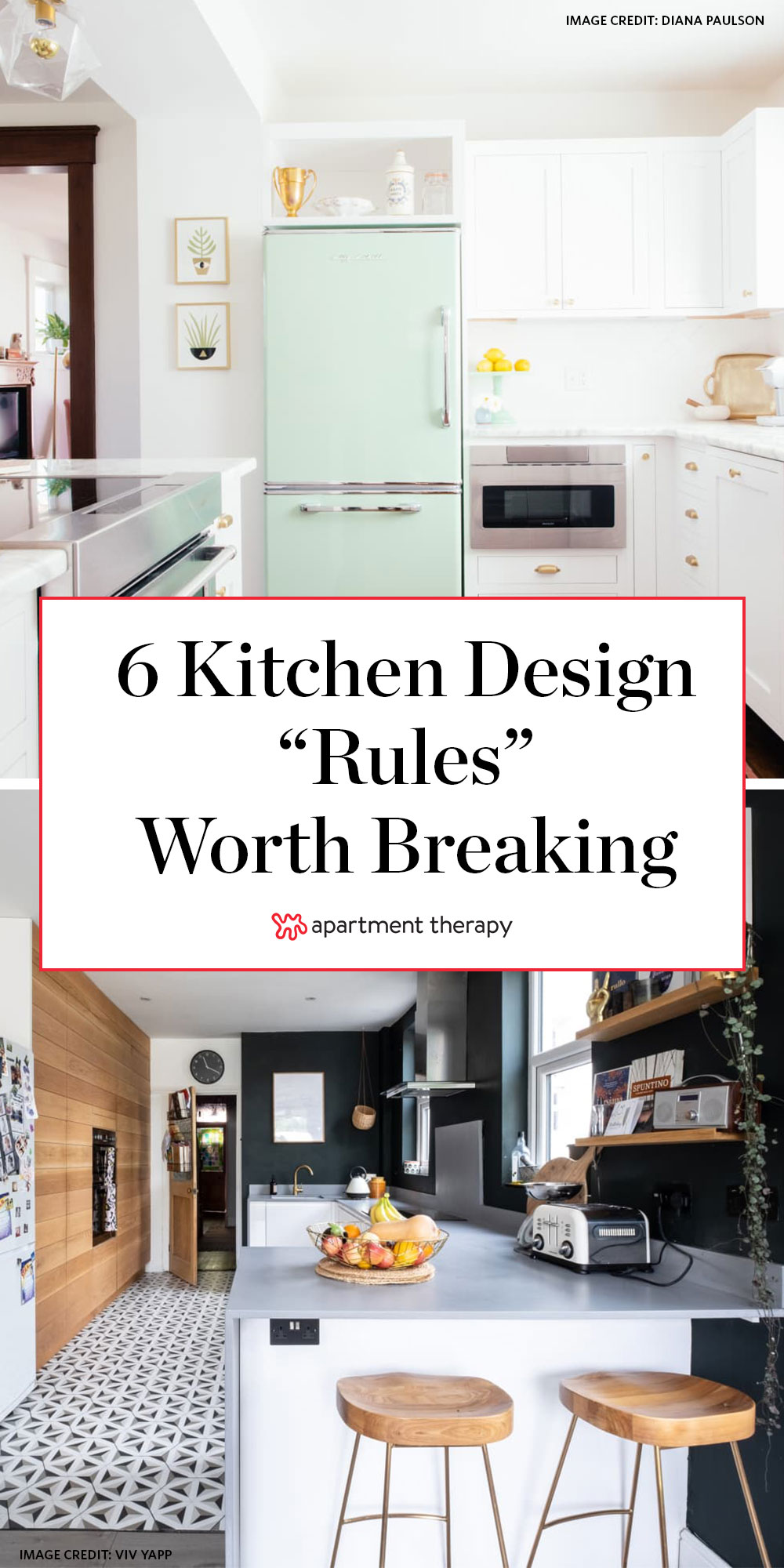 9 Kitchen Design Rules You Can Break Right Now   Apartment Therapy