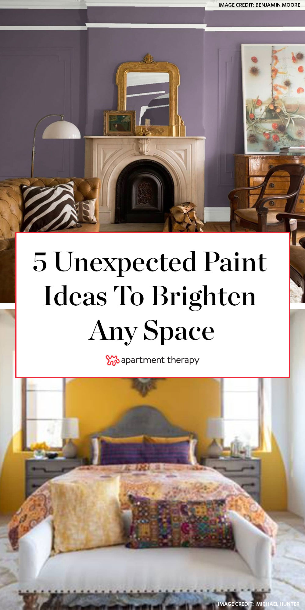 Unexpected Paint Ideas To Brighten Up Your Room Apartment Therapy