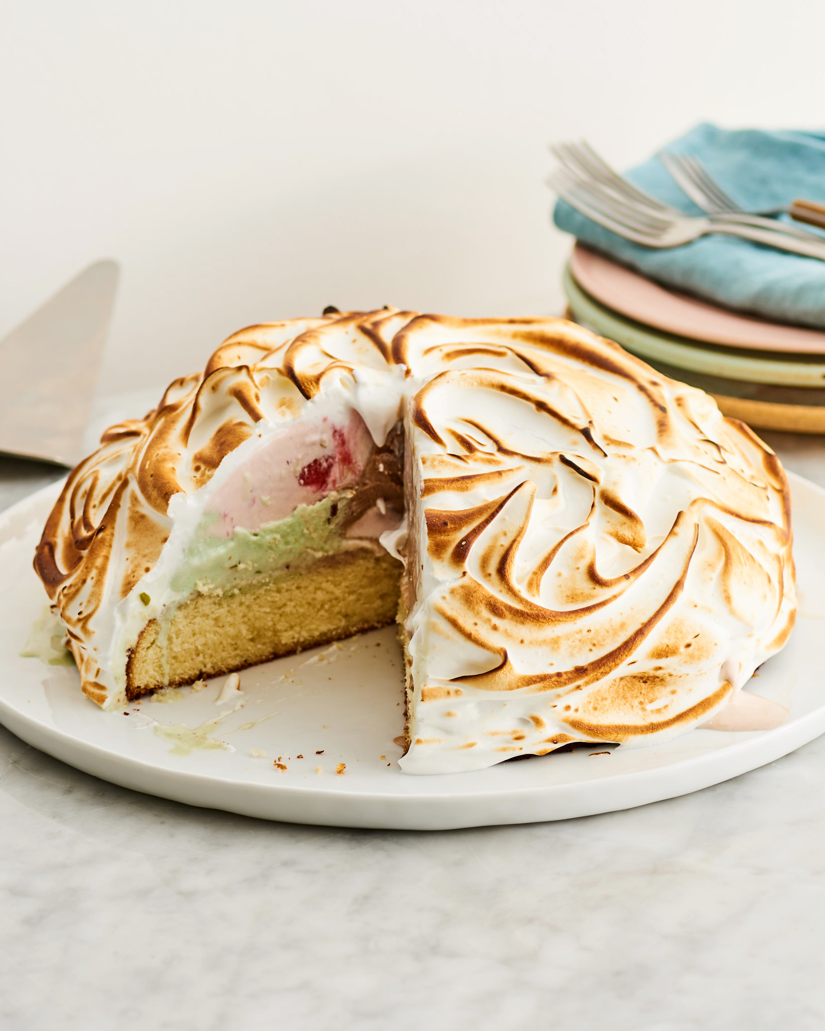 How To Make A Classic Baked Alaska Kitchn