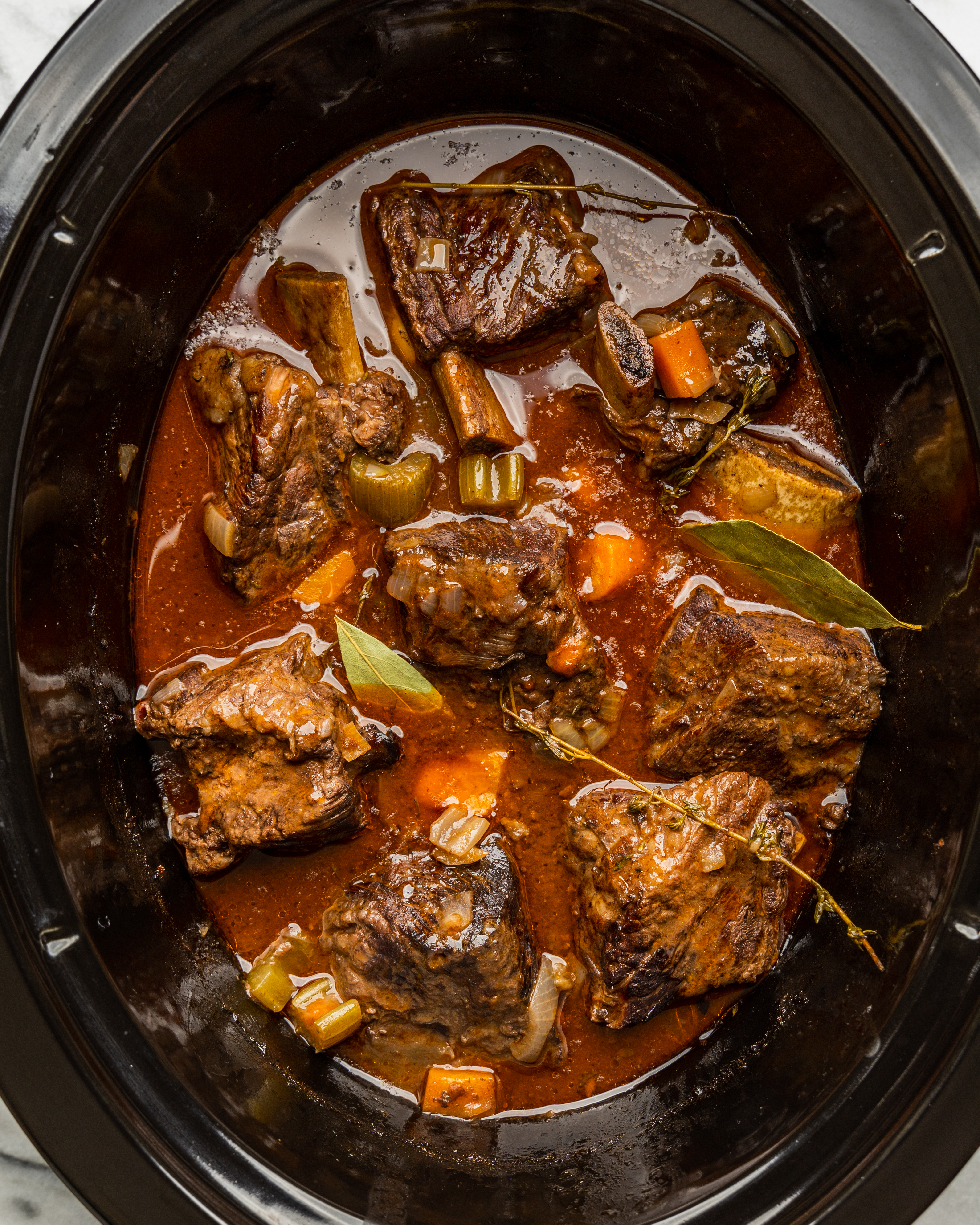 Slow Cooker Red Wine Braised Short Ribs Kitchn