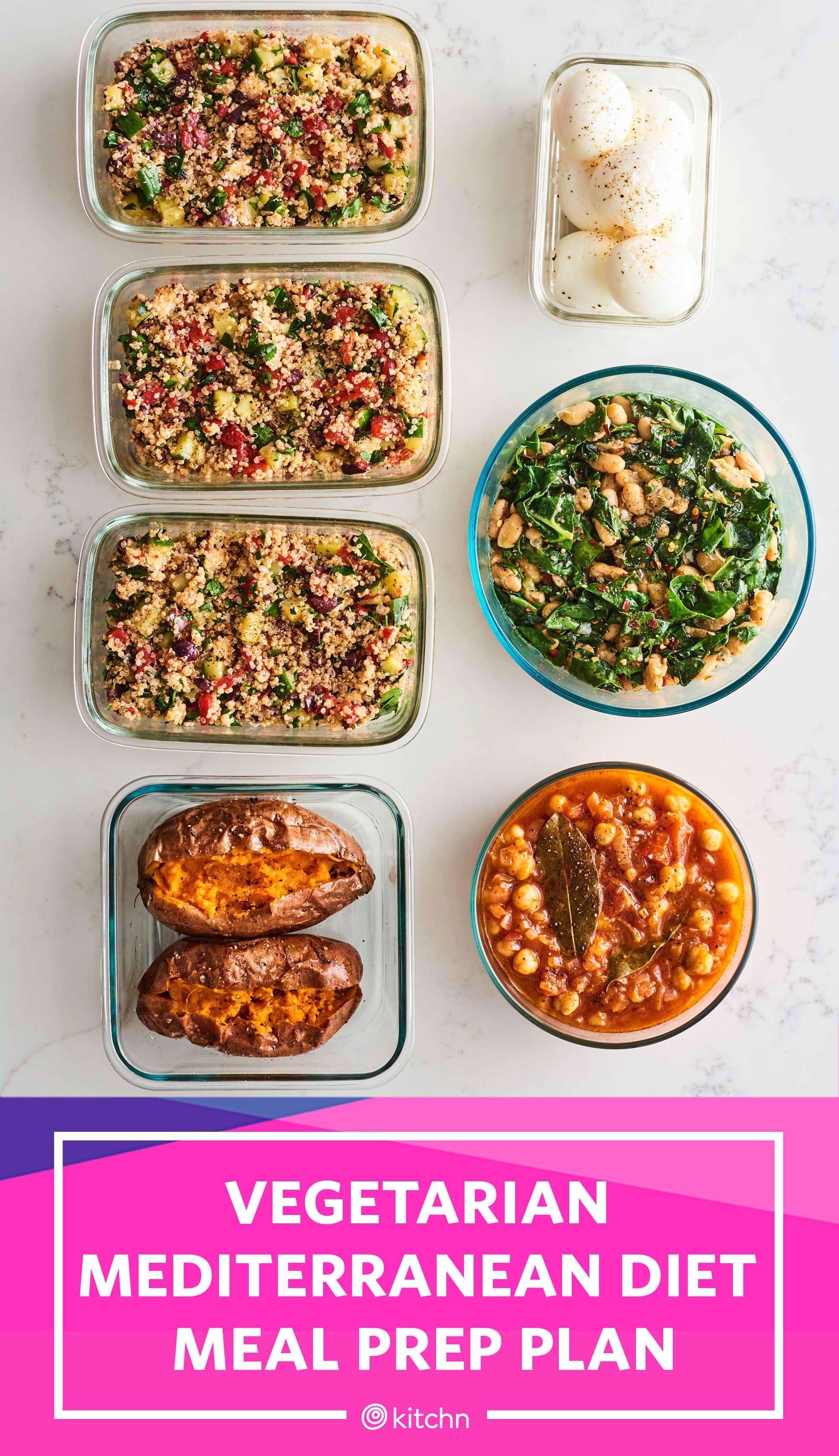 plant based mediteranian diet recipies