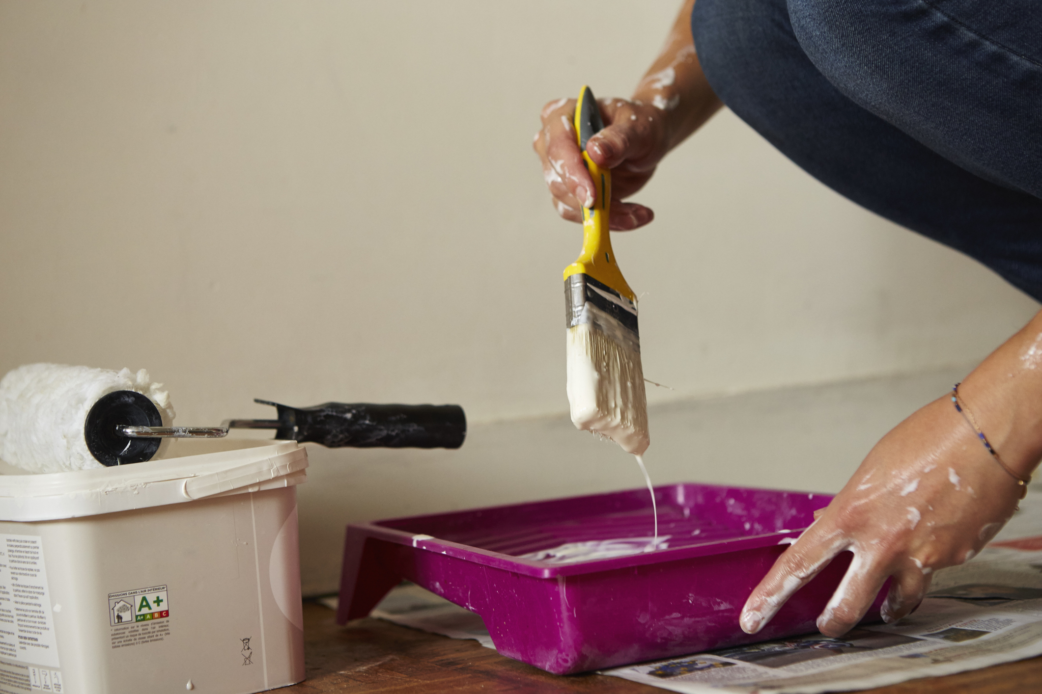 How To Remove Dried Paint From Wood Apartment Therapy
