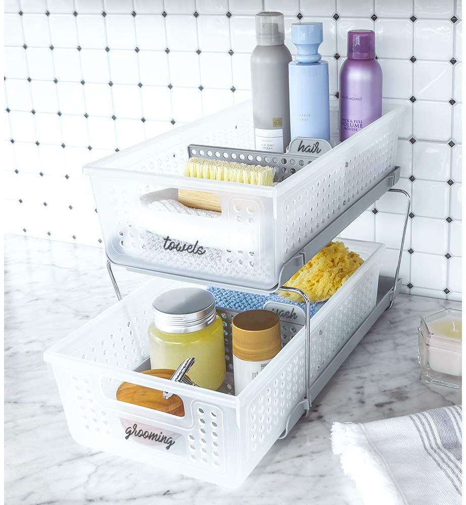 41 Bathroom Organization Ideas For Counters Cabinets And More Apartment Therapy,Flowers That Bloom At Night In India