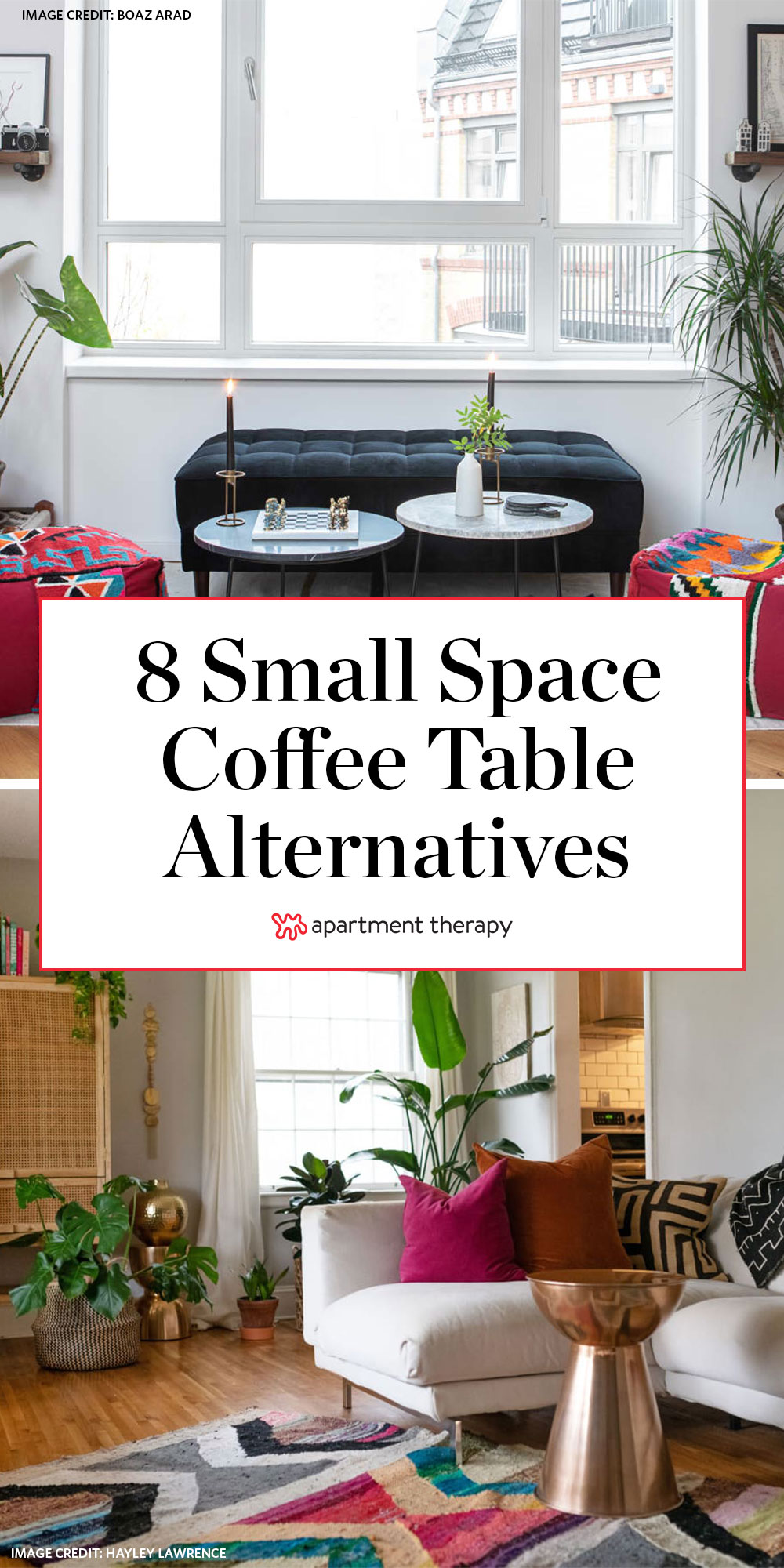 Picture of: 8 Cool Alternatives To Your Living Room Coffee Table Apartment Therapy