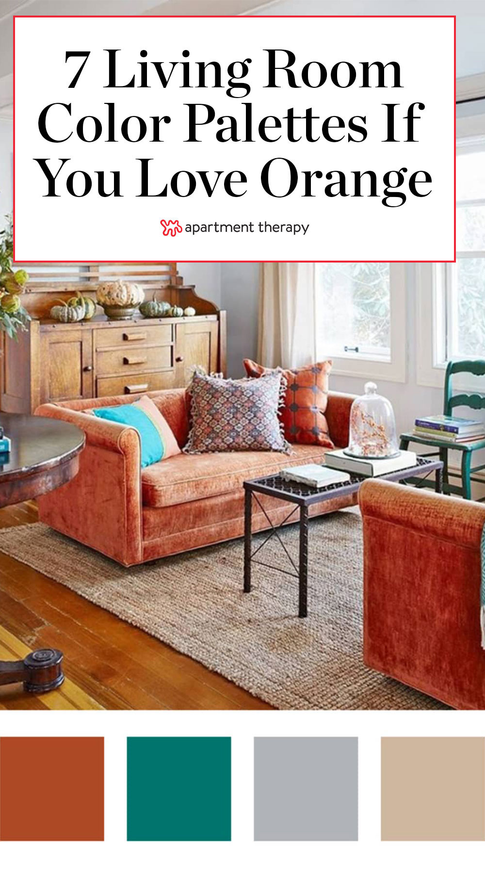Colors That Go With Orange How To Make Them Work Apartment Therapy