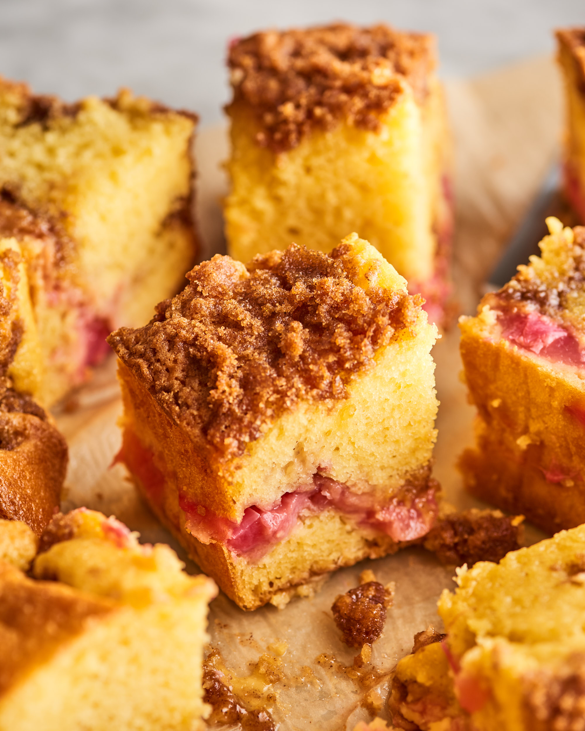 Easy Rhubarb Coffee Cake Recipe Kitchn