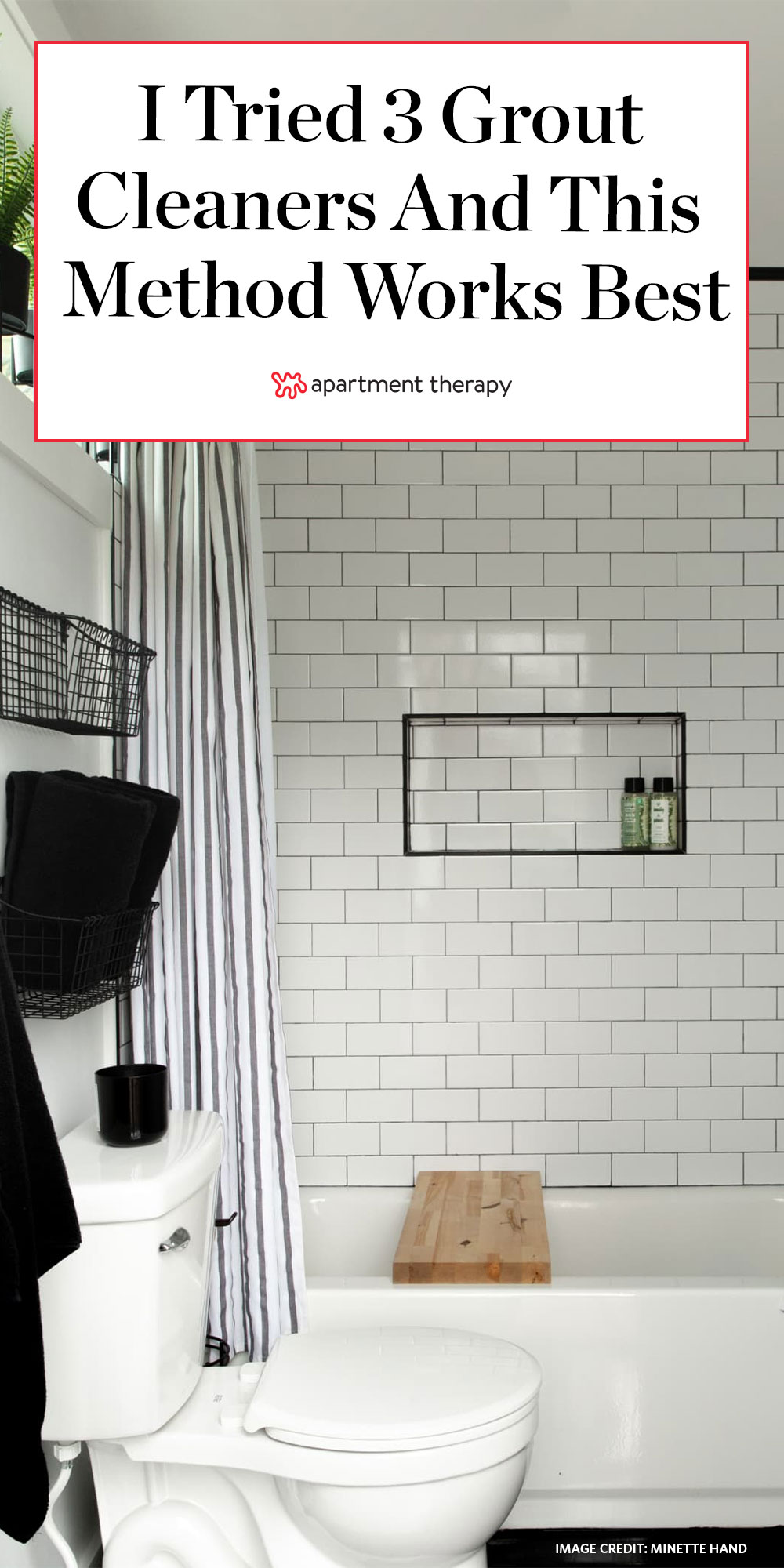 I Tried 3 Diy Grout Cleaners And One Of Them Blew Me Away Apartment Therapy