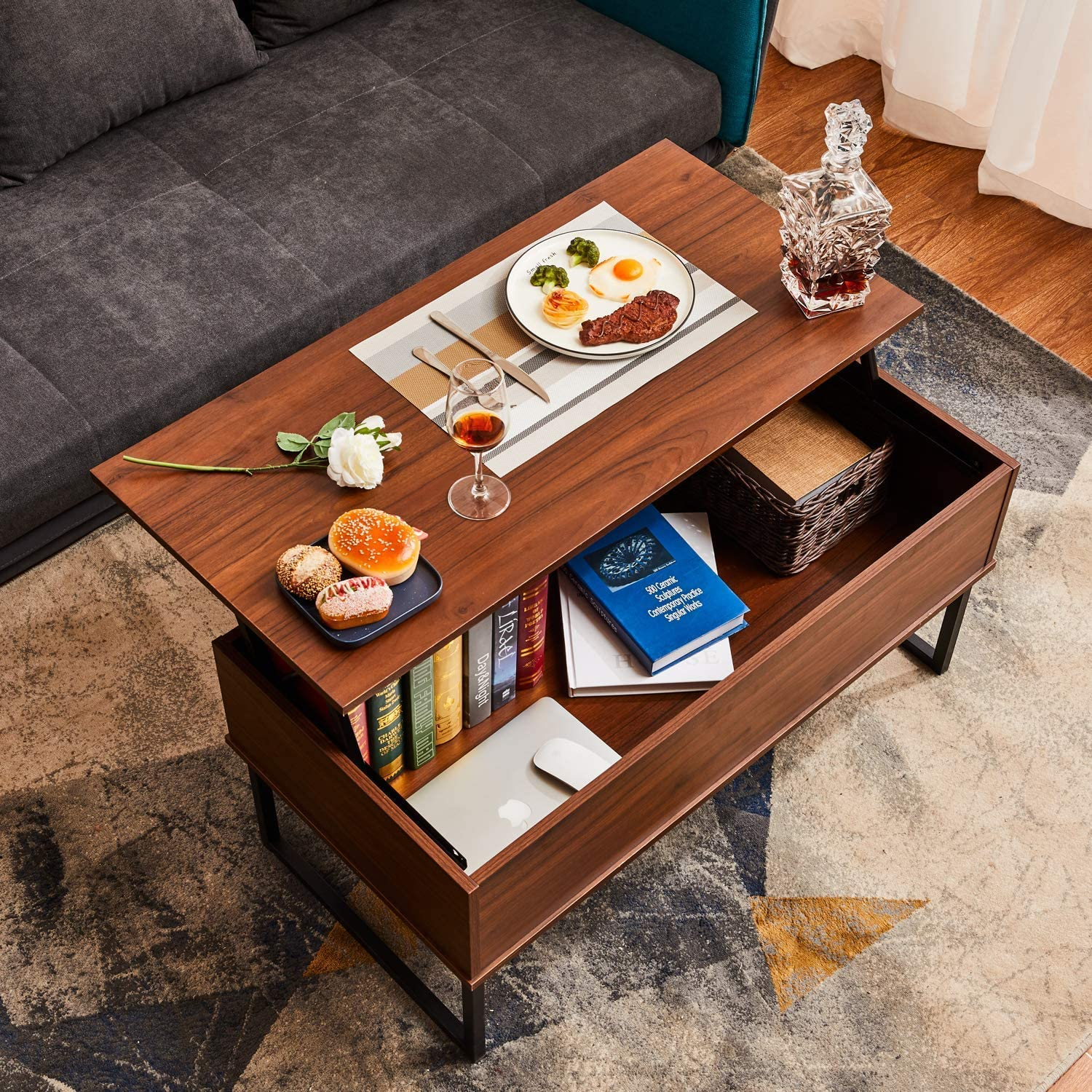 7 Best Lift Top Coffee Tables That Convert To Desks Kitchn