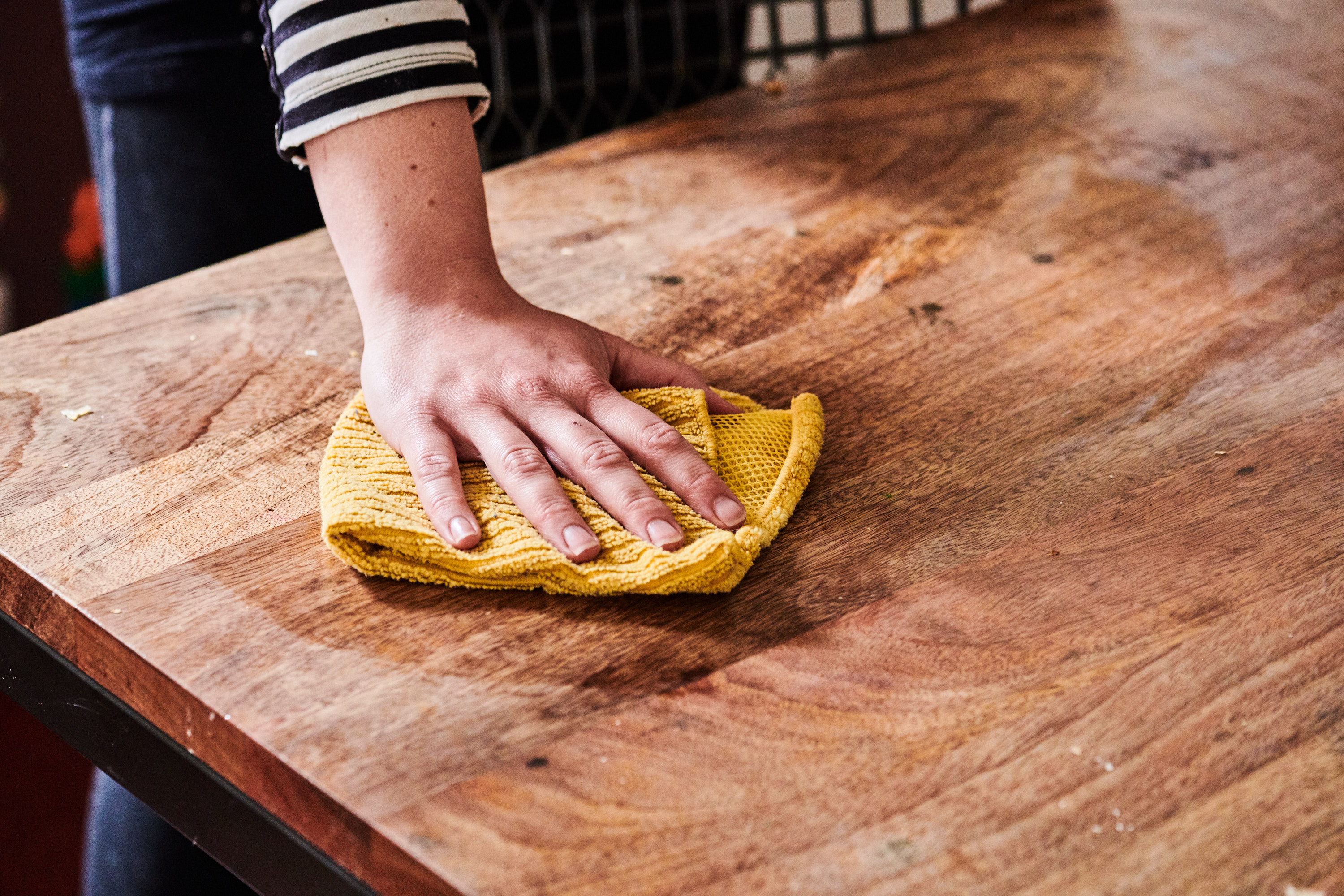 How To Clean Protect Your Wood Dining Table Kitchn